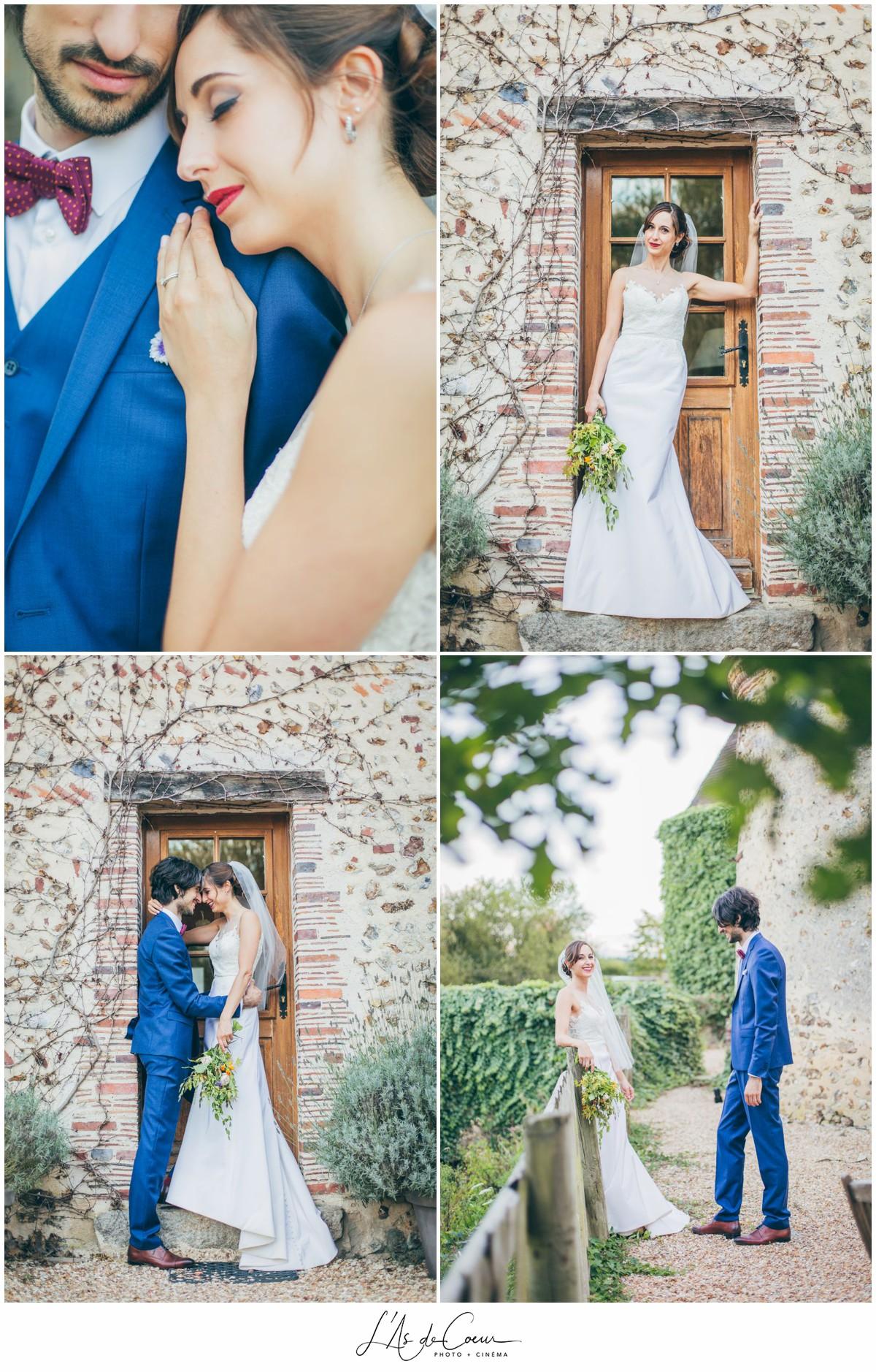 portrait couple mariage au Domaine des Evis ©lasdecoeur