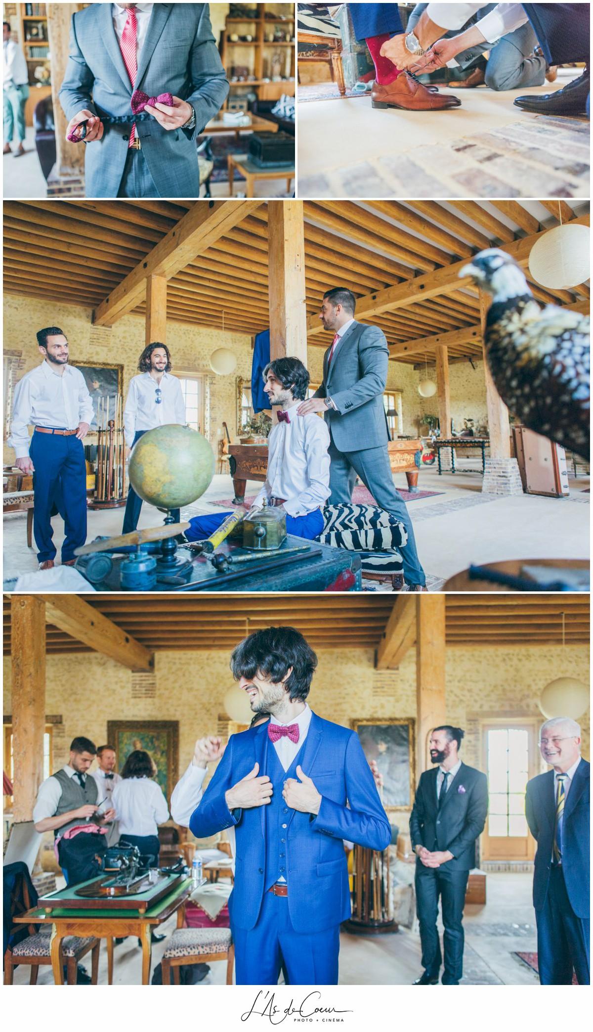 préparatifs mariage au Domaine des Evis ©lasdecoeurphoto