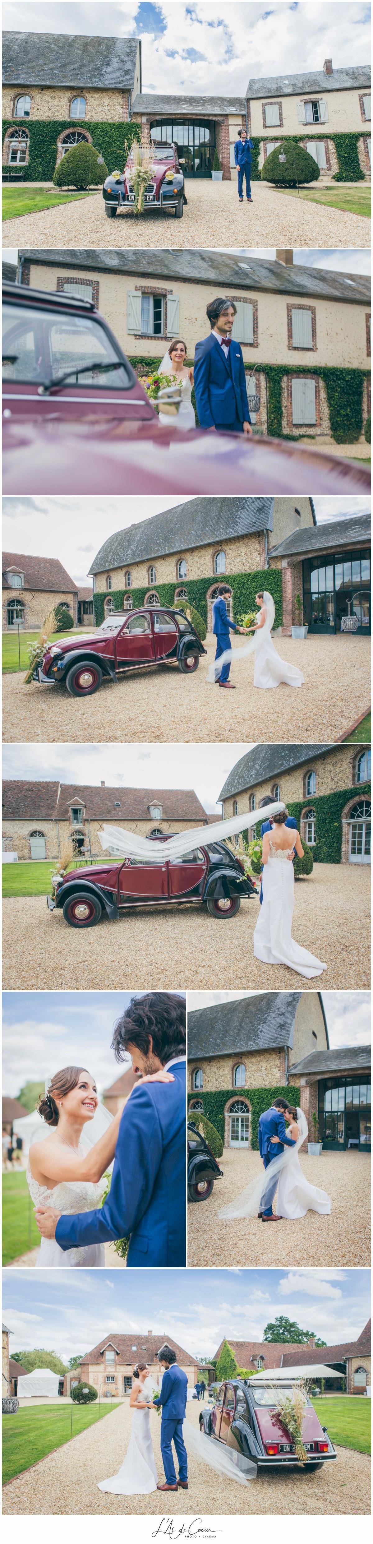 rencontre mariés au Domaine des Evis ©lasdecoeurphoto