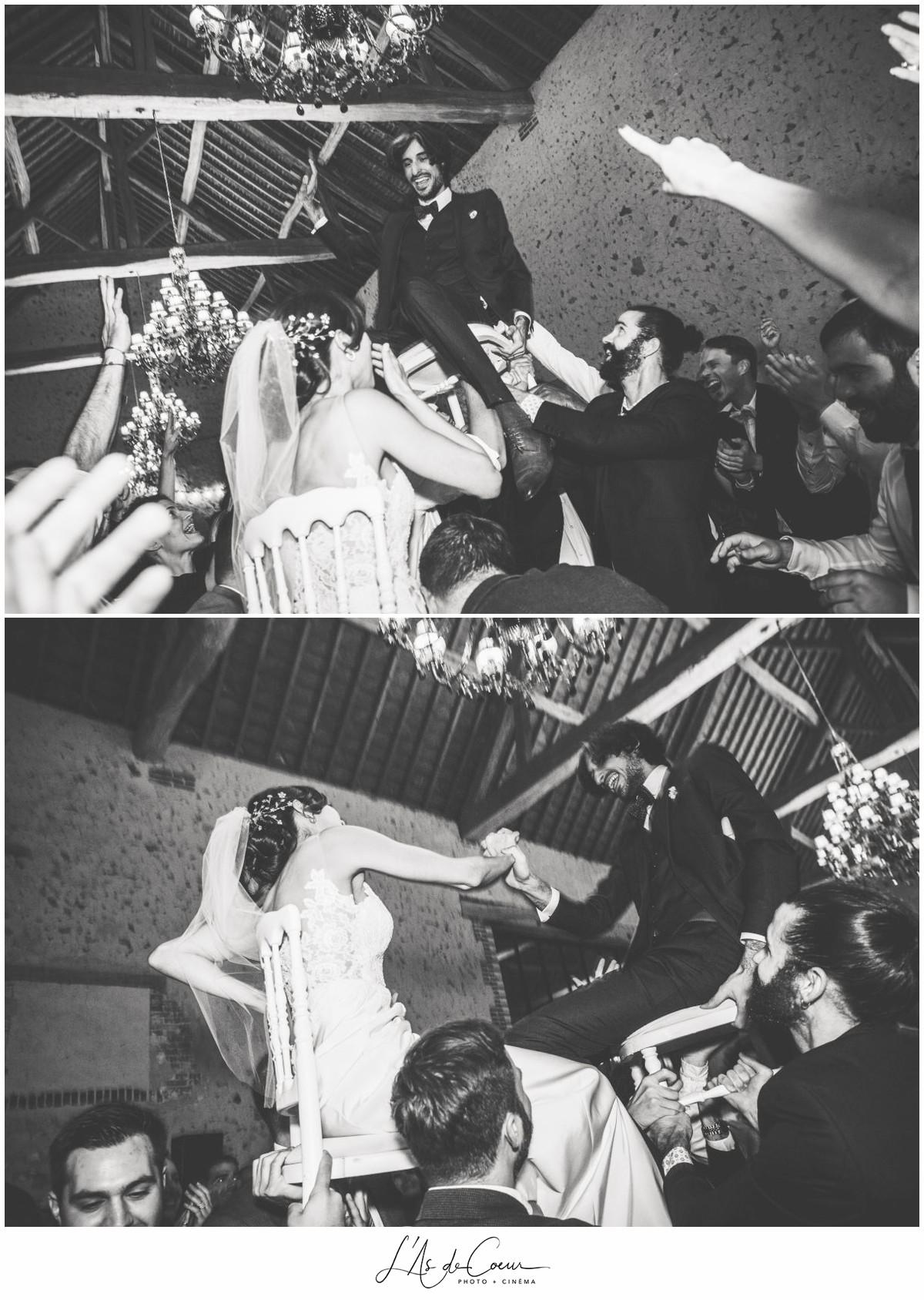 soirée folie mariage au Domaine des Evis ©lasdecoeur