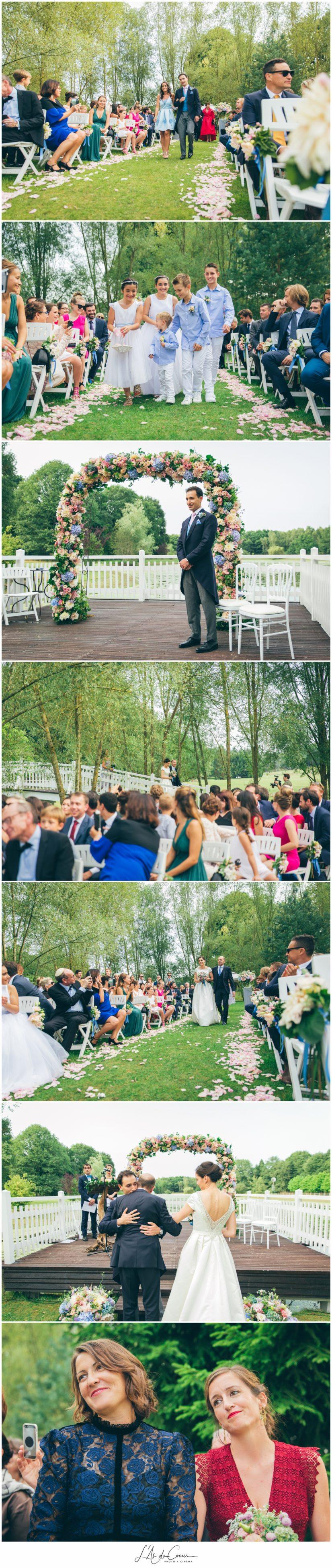 cérémonie mariage Domaine de la Butte Ronde Paris
