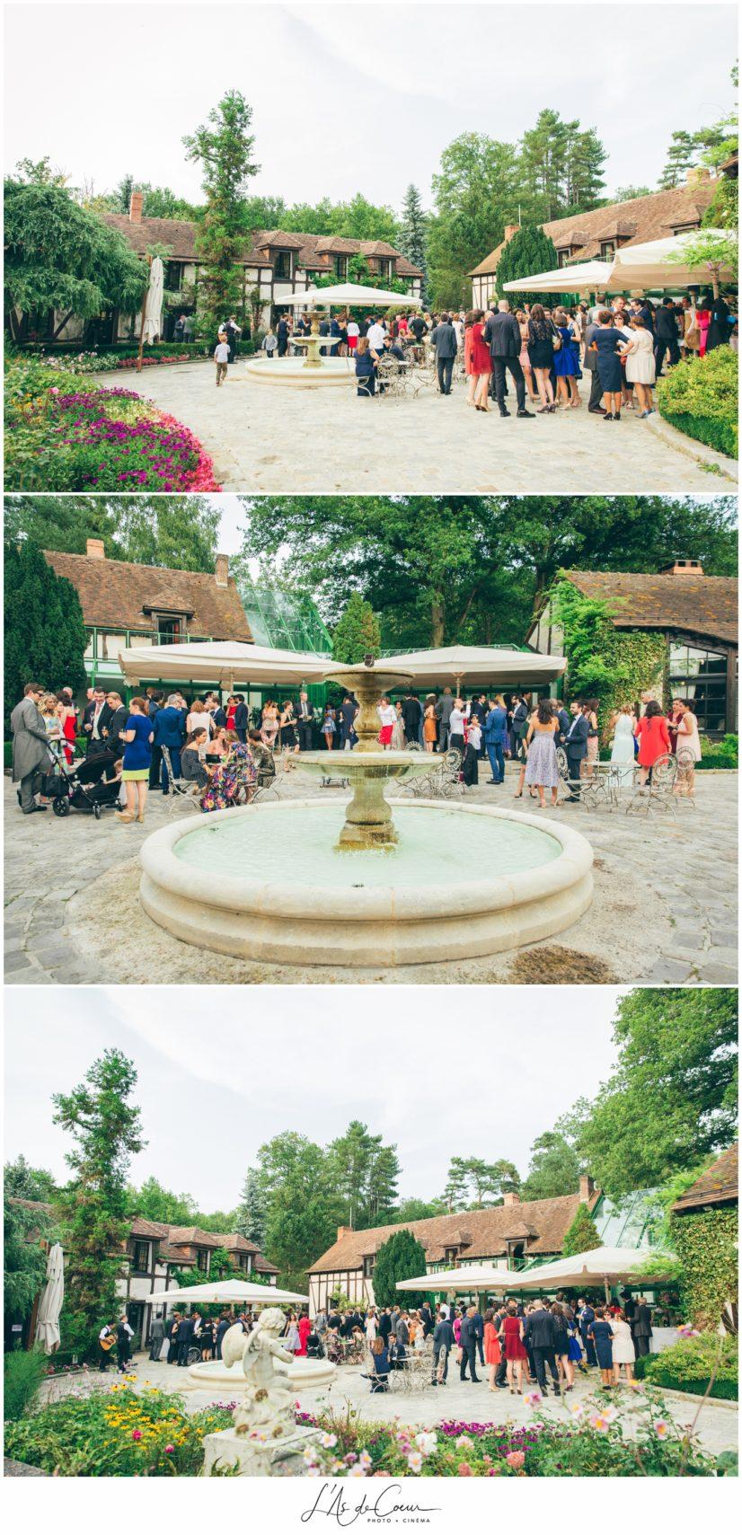 cocktail mariage Domaine de la Butte Ronde Paris