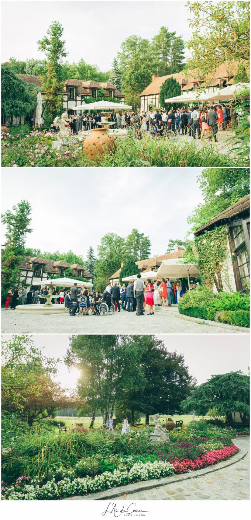 photographe mariage Domaine de la Butte Ronde Paris