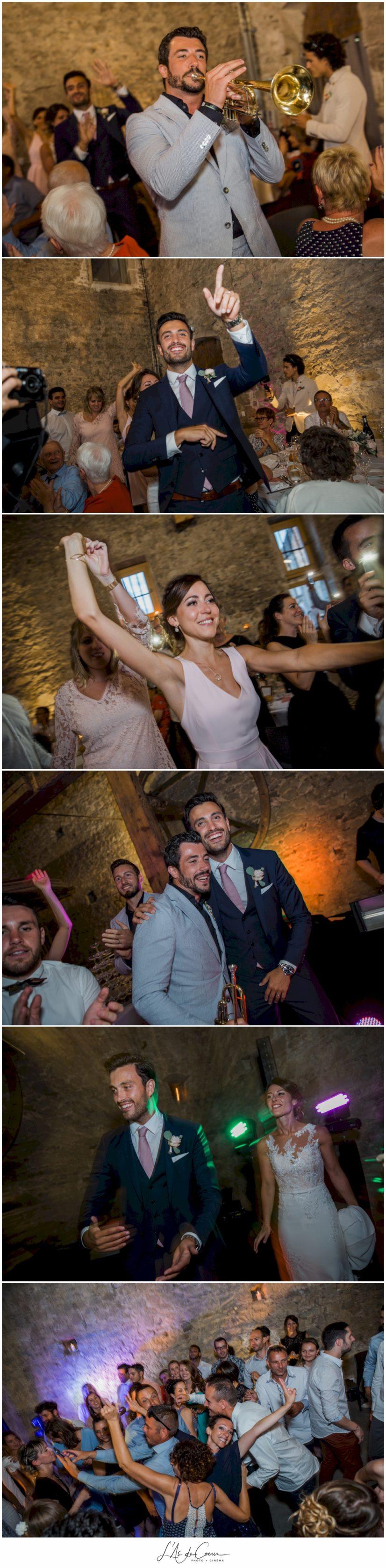 entrée des mariés mariage Chateau de la Gallée Millery Lyon