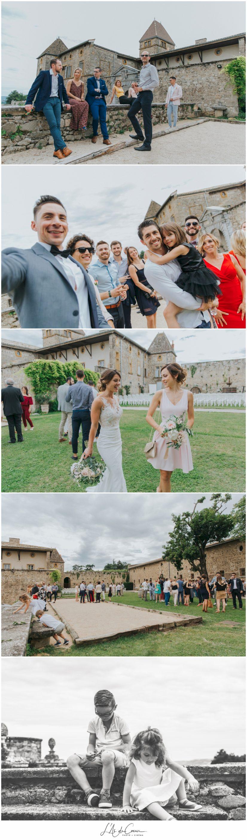 mariage Chateau de la Gallée Millery Lyon