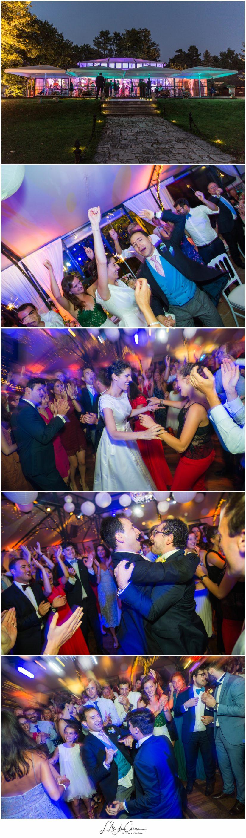 photo mariage soiree Domaine de la Butte Ronde Paris