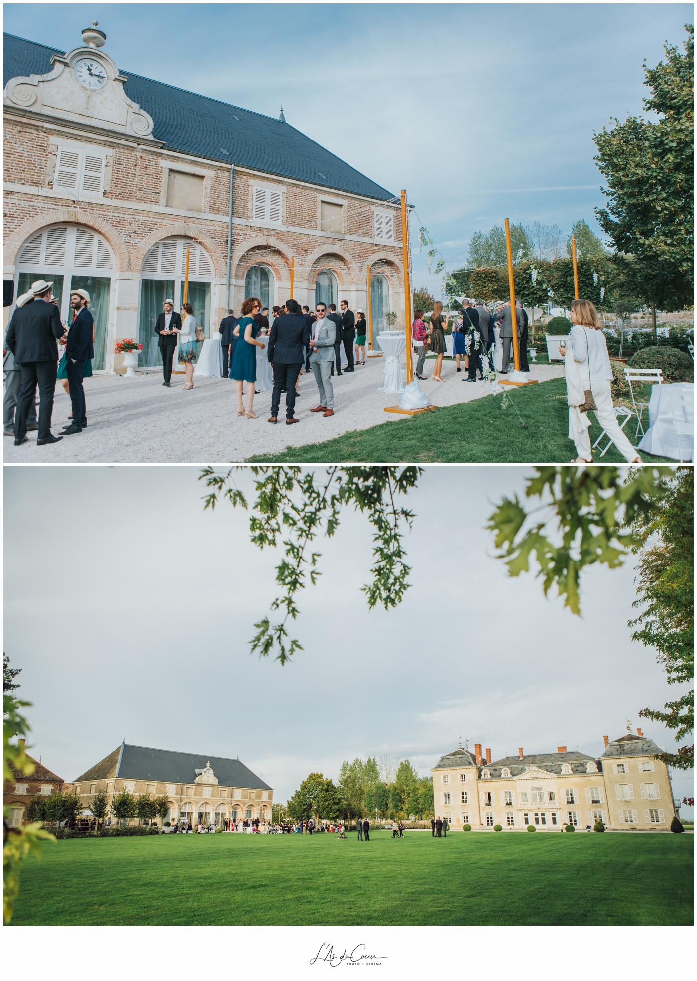 cocktail mariage Château de Varennes ©lasdecoeur 2