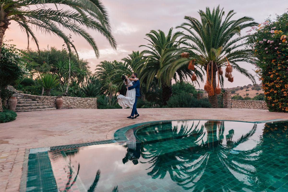 Mariage à Essaouira, Jardin Des Douars