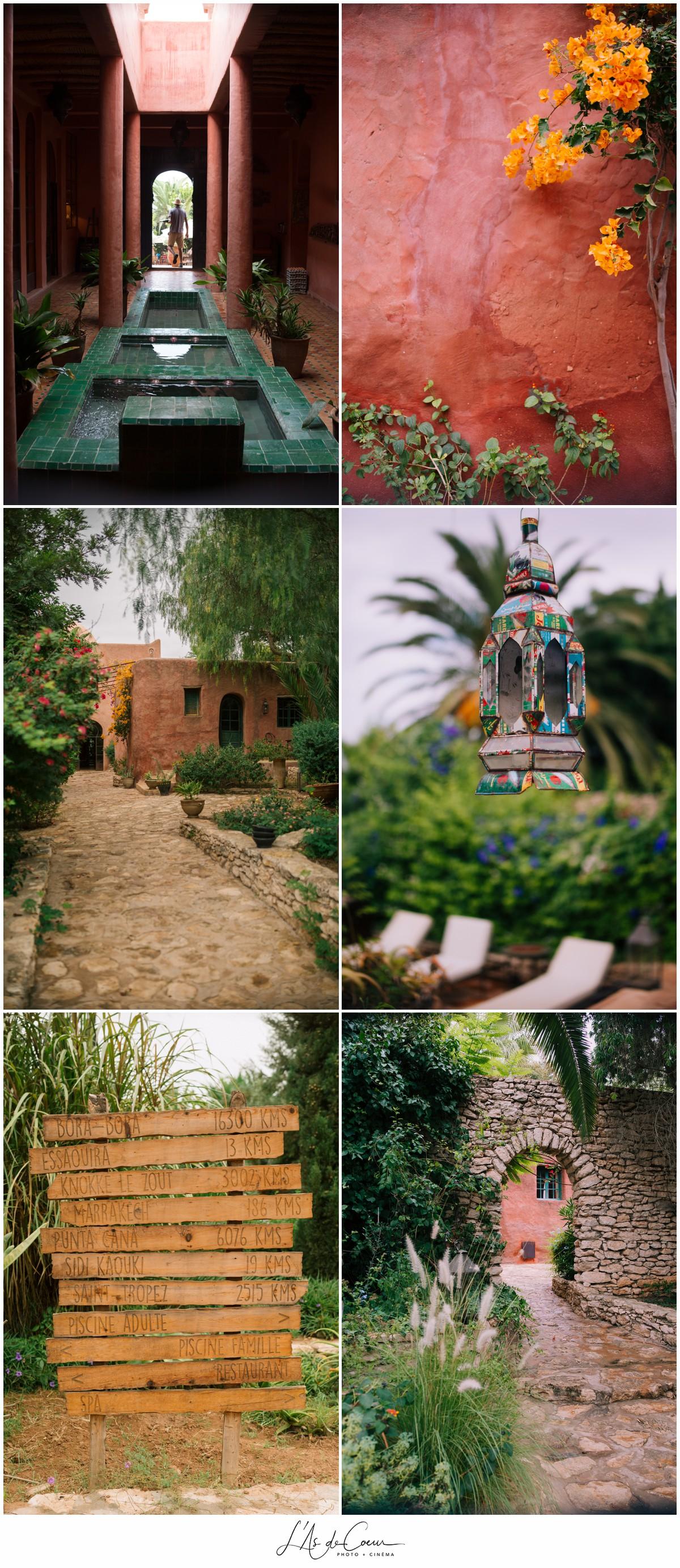 Photographe Mariage Essaouira le Jardin des Douars Maroc ©lasdecoeurphoto