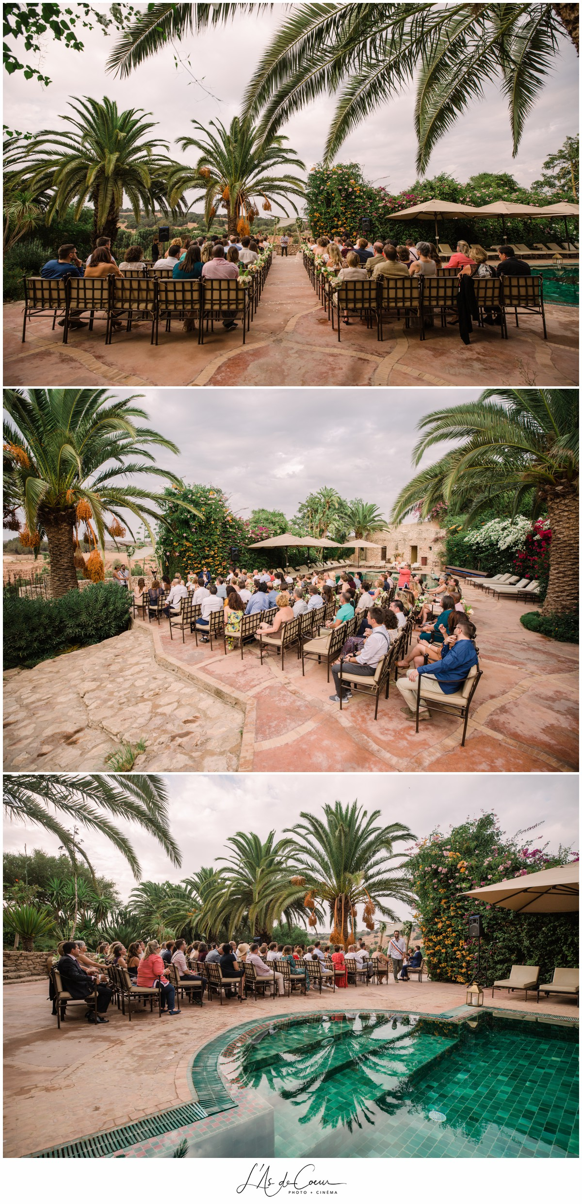 photographe Ceremonie Mariage Essaouira le Jardin des Douars Maroc ©lasdecoeurphoto