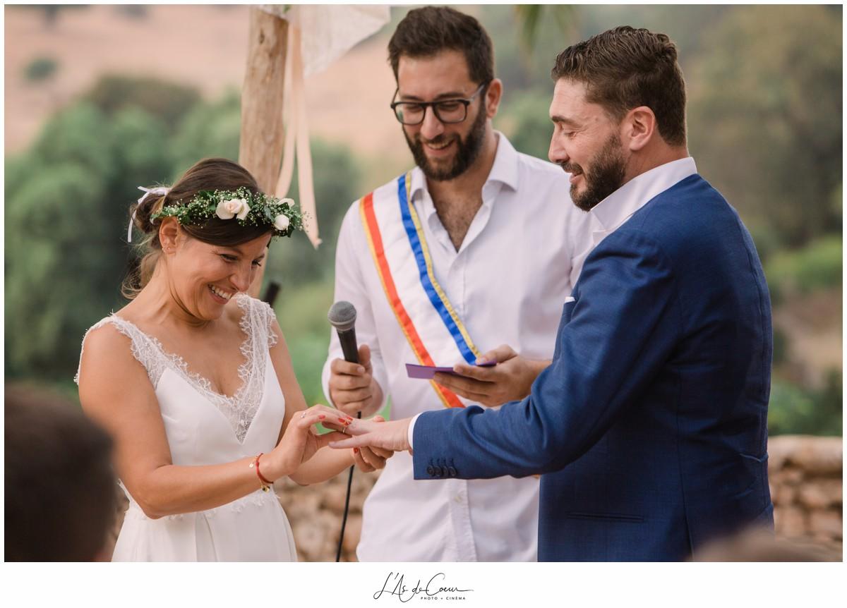 Ceremonie Mariage Photographe Essaouira la Jardin des Douars Maroc ©lasdecoeurphoto
