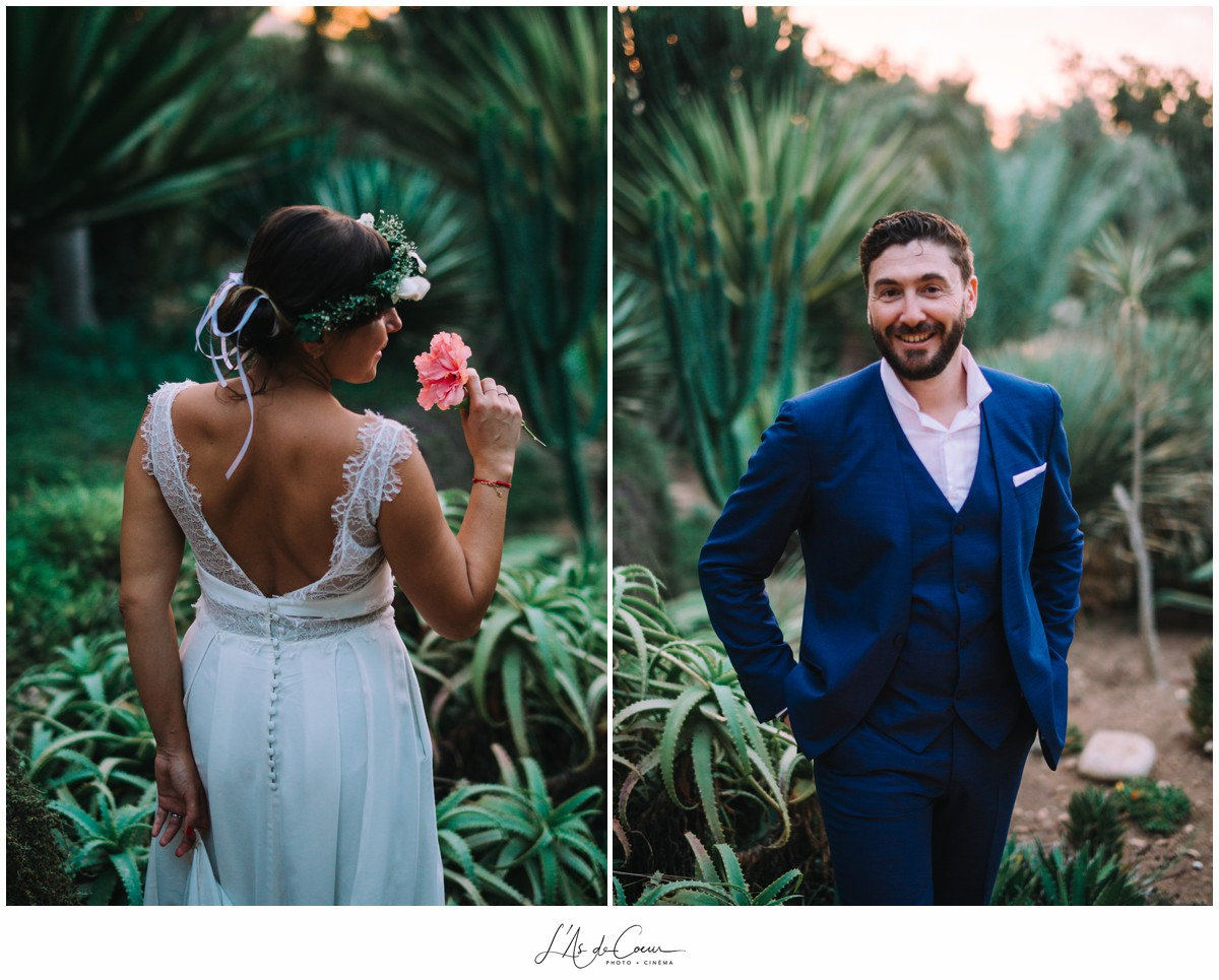 Mariage bohème Photographe mariage Essaouira le Jardin des Douars Maroc ©lasdecoeurphoto