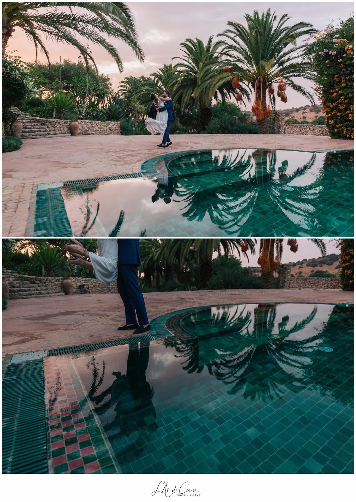 Photos couple Photographe Mariage Essaouira le Jardin des Douars Maroc ©lasdecoeurphoto