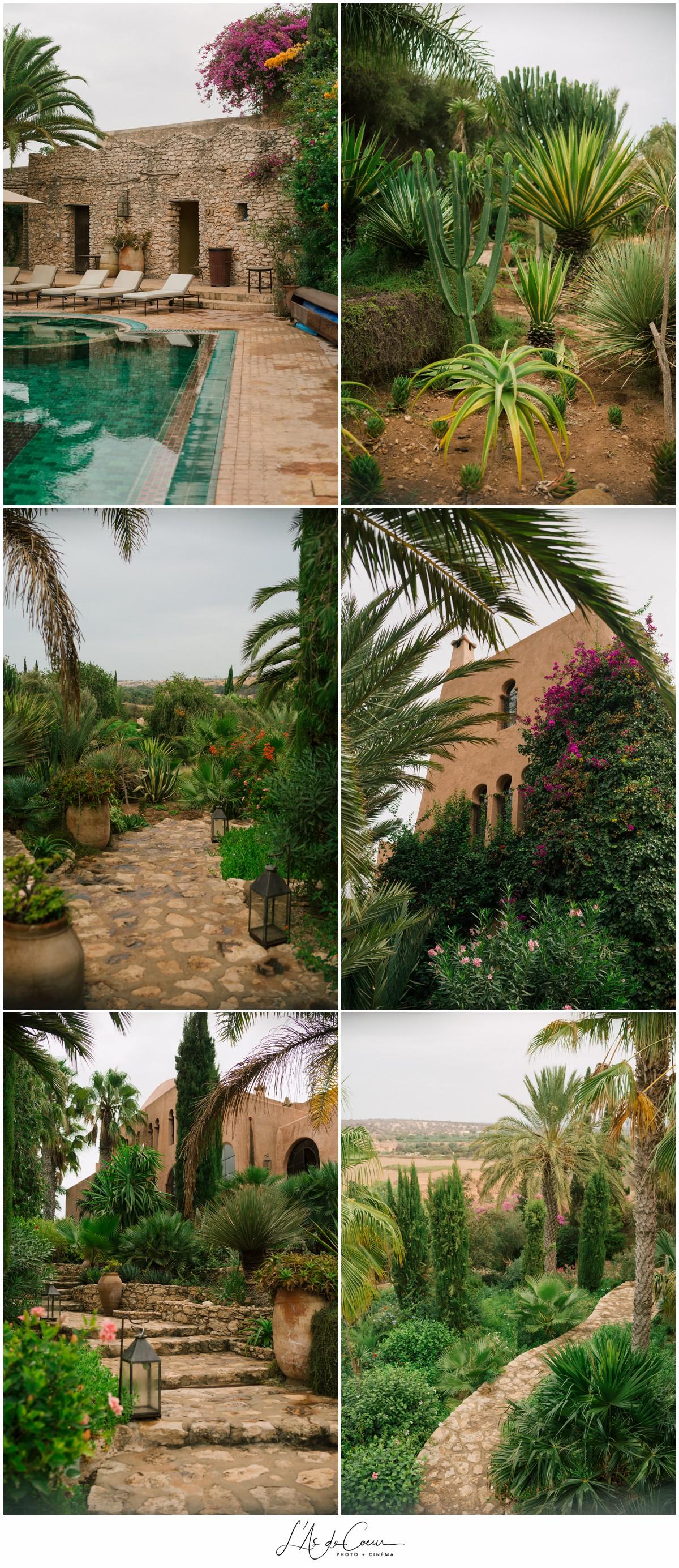 Mariage A Essaouira Jardin Des Douars L As De Coeur Photo