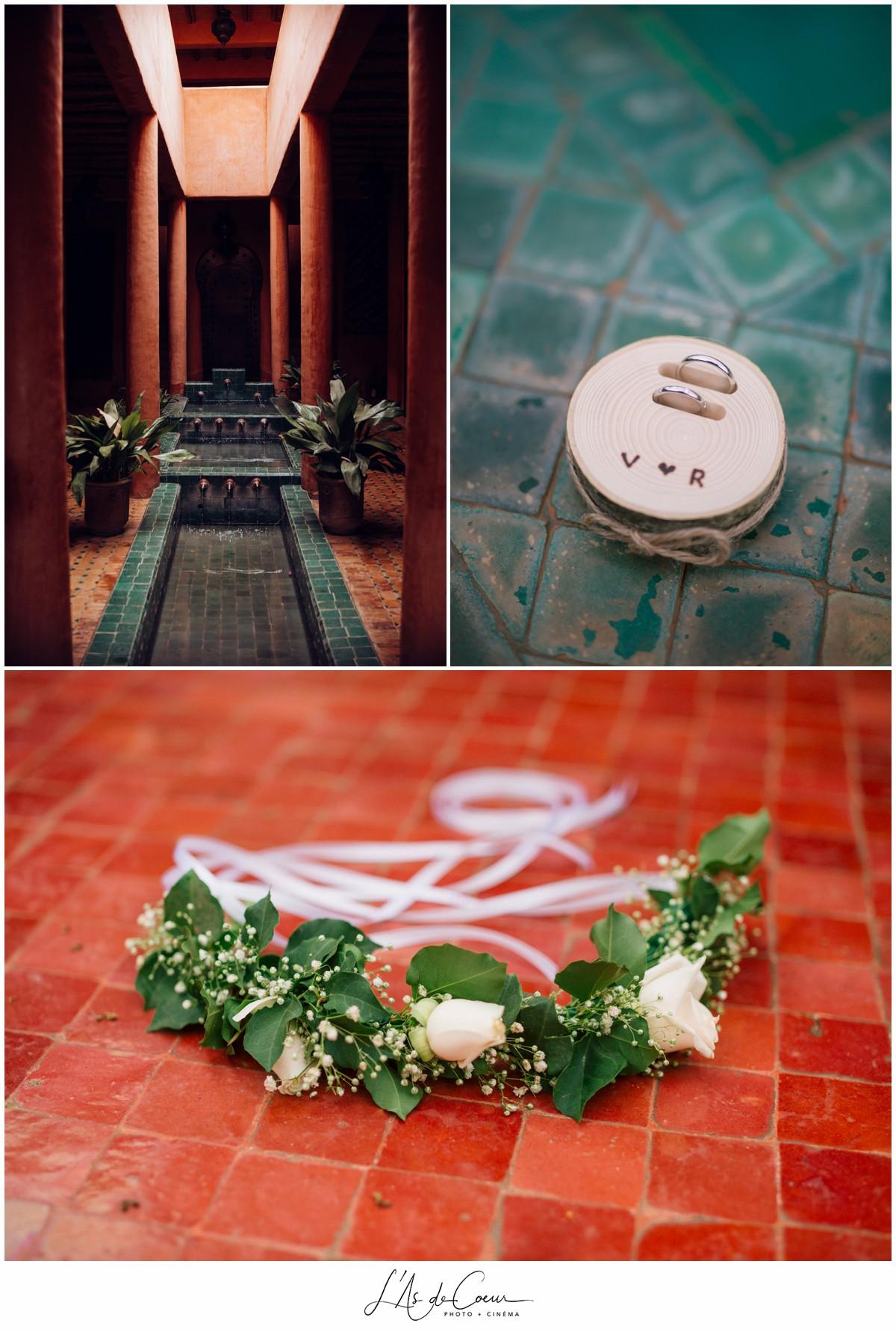 Details Photographe Mariage Essaouira le Jardin des Douars Maroc ©lasdecoeurphoto