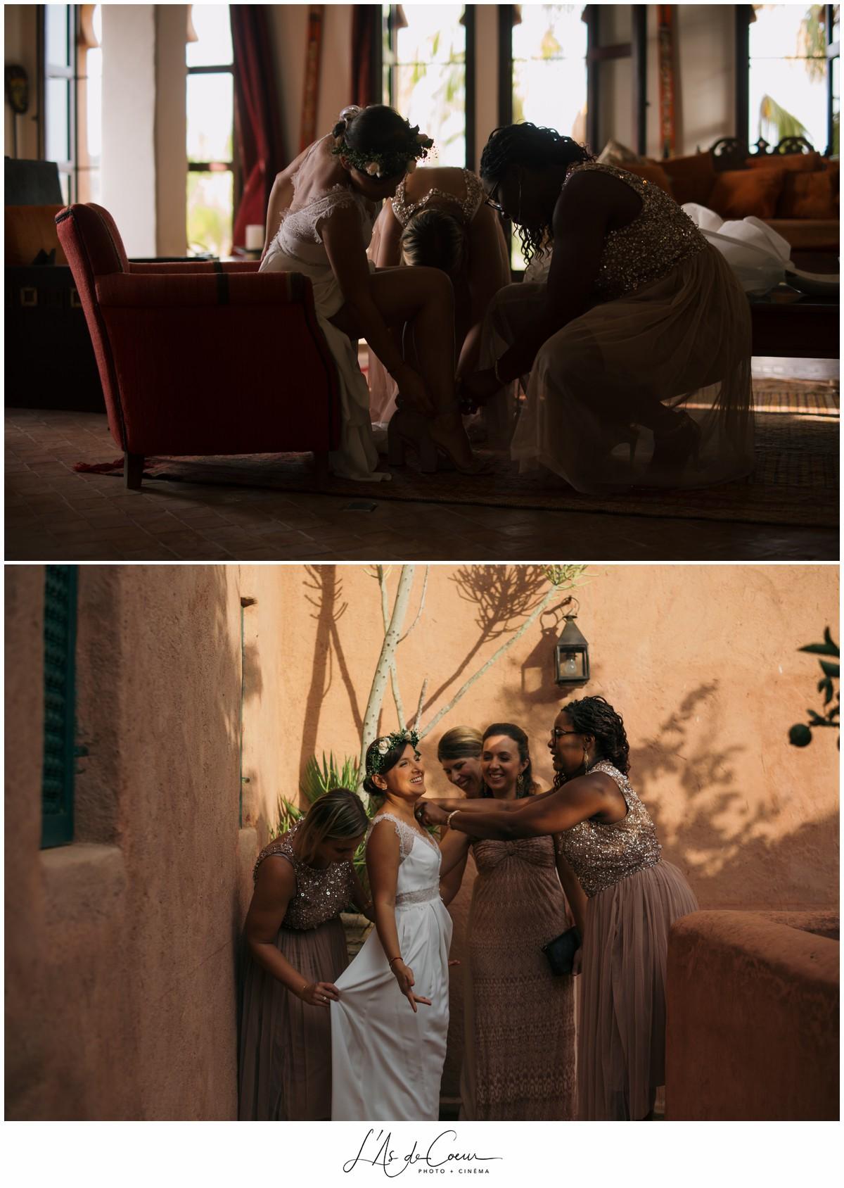 Preparatifs Photographe Mariage Essaouira le Jardin des Douars Maroc ©lasdecoeurphoto