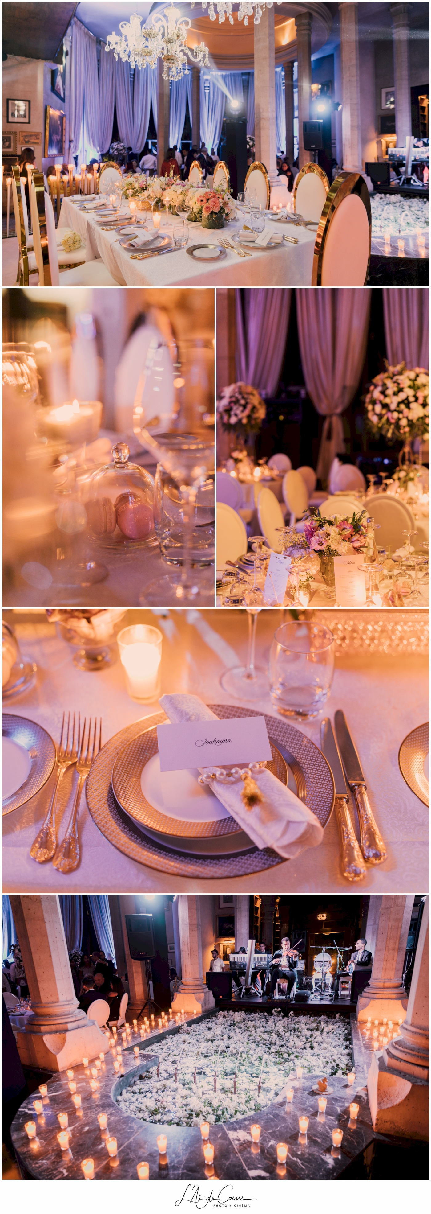 wedding table palais rhoul