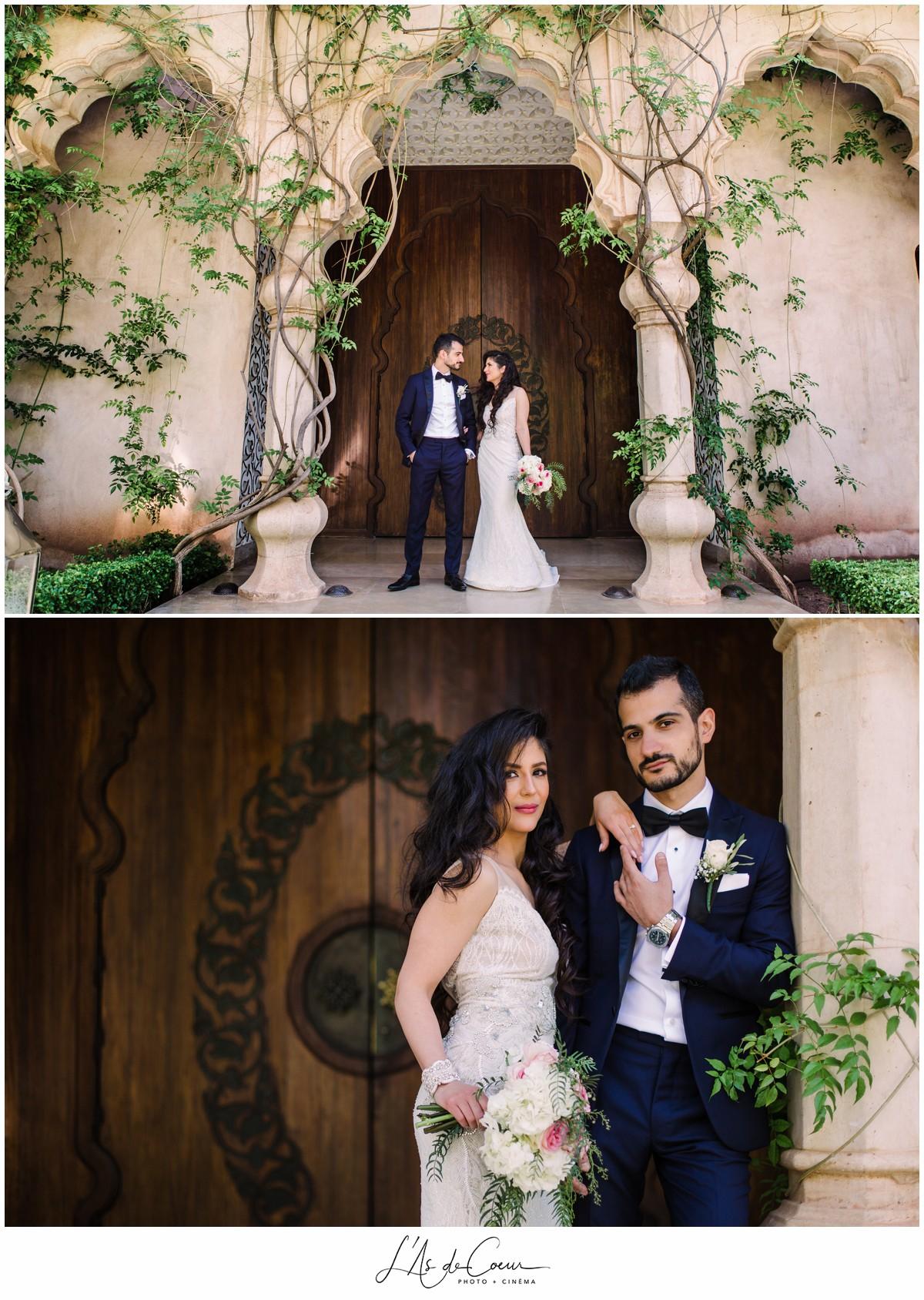 Photographe mariage Marrakech Palais Namaskar Maroc 1