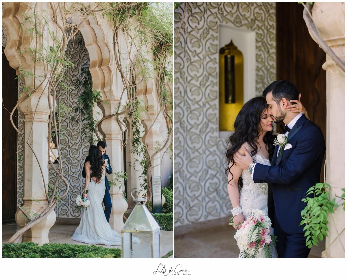 Photographe mariage Marrakech Palais Namaskar Maroc 2