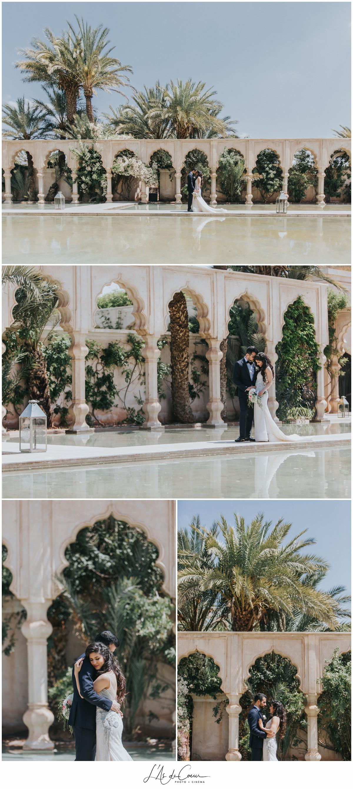 Photographe mariage Palais Namaskar Maroc Marrakech