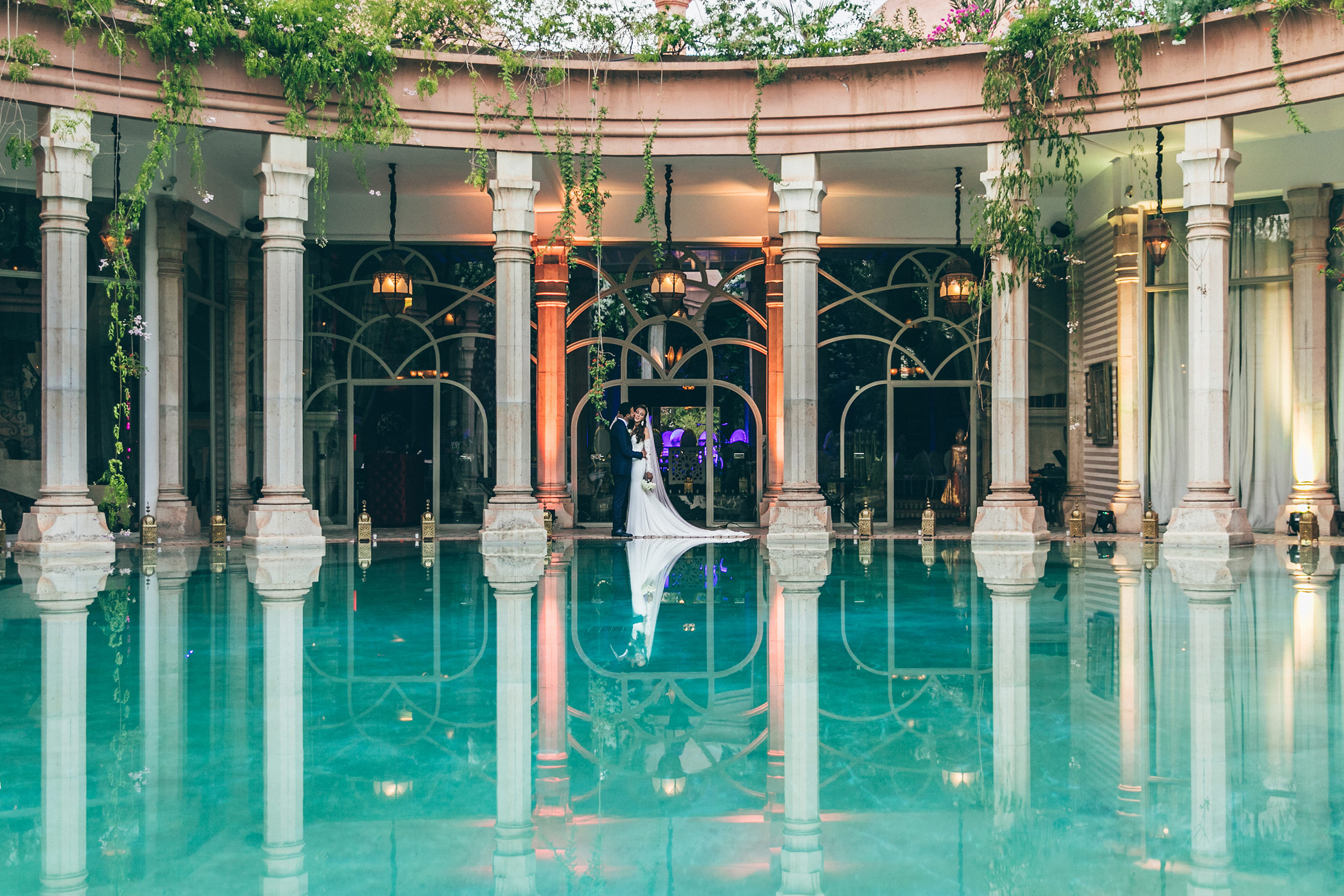 Wedding At Palais Rhoul Marrakesh