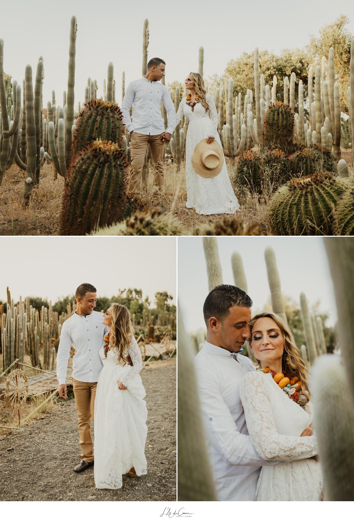 Love Session Cactus Garden Marrakesh