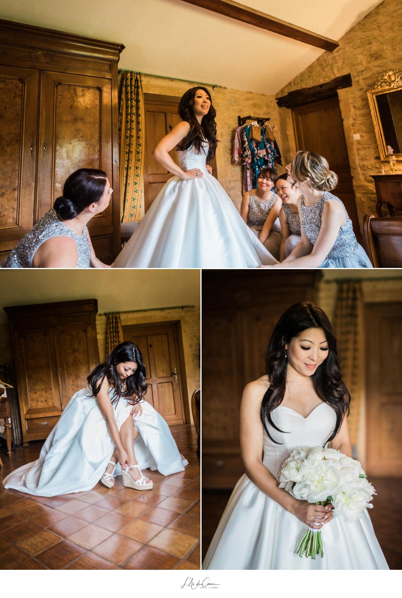 Bride prep mariage Beaujolais