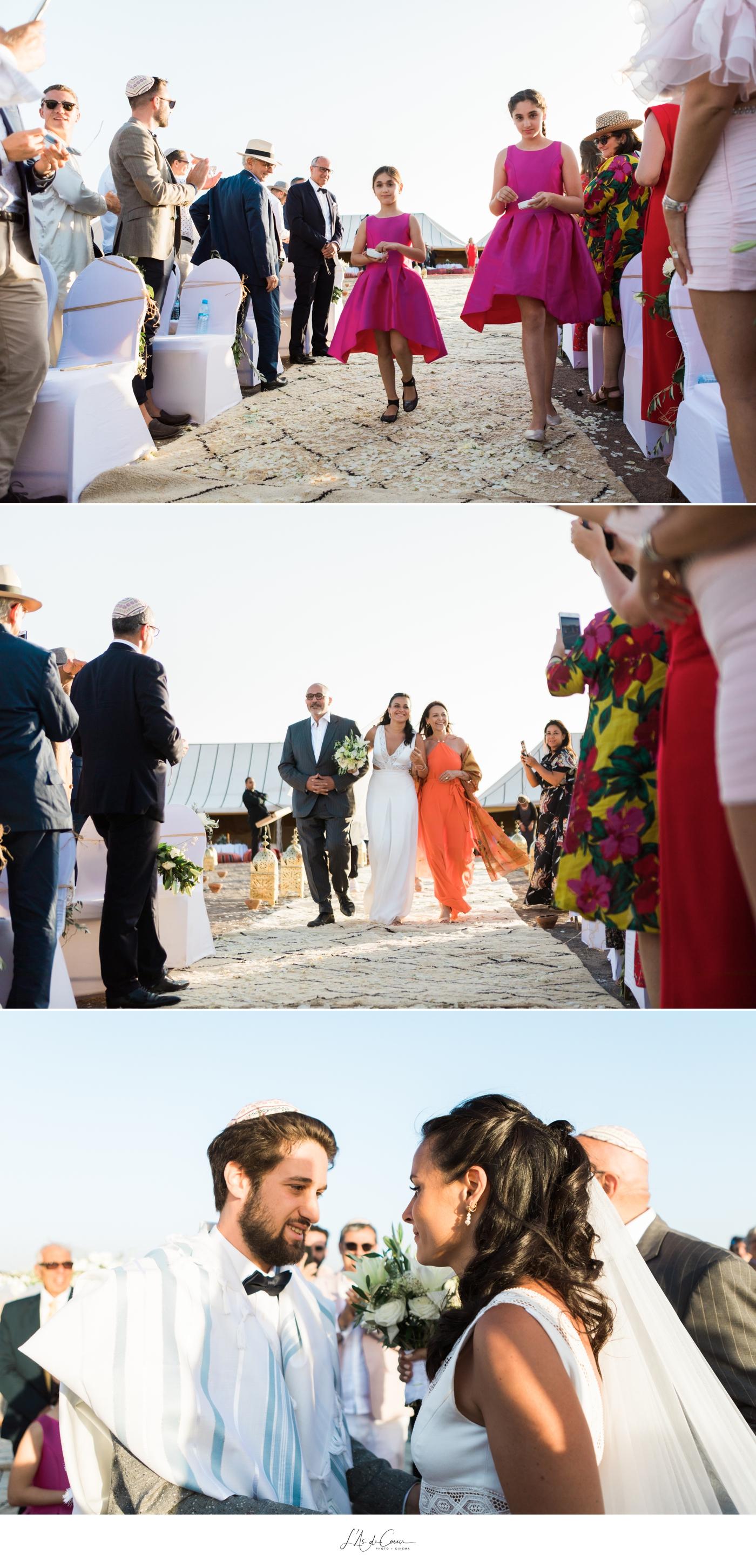 Cémonie mariage desert Maroc