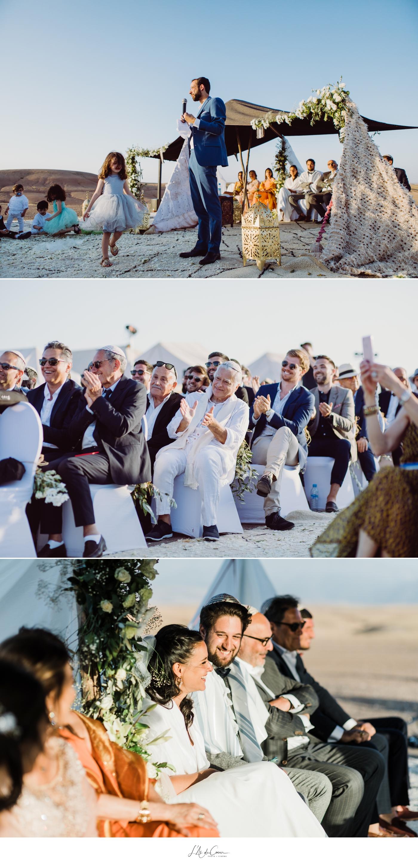 Cémonie mariage désert Maroc