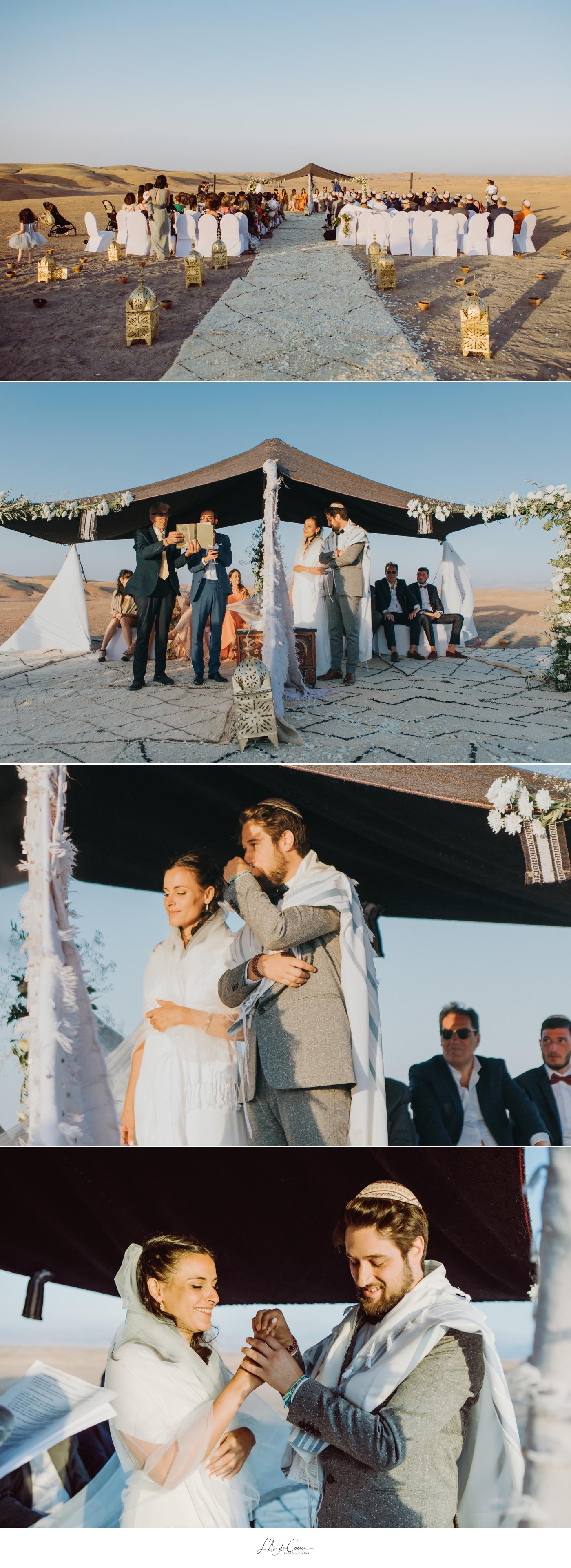 mariage juif désert Marrakech