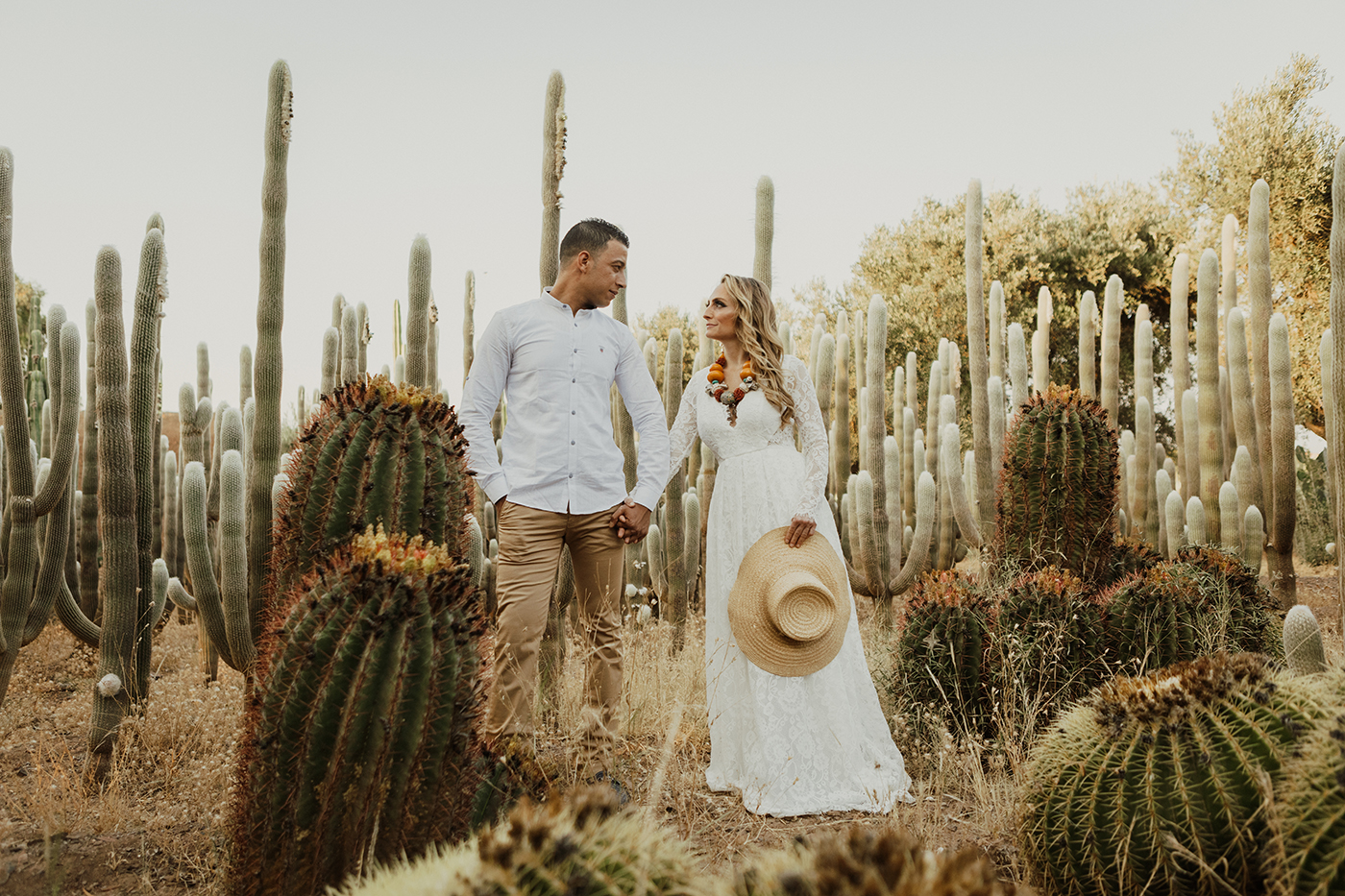 Love Session Photo Cactus Garden Marrakesh