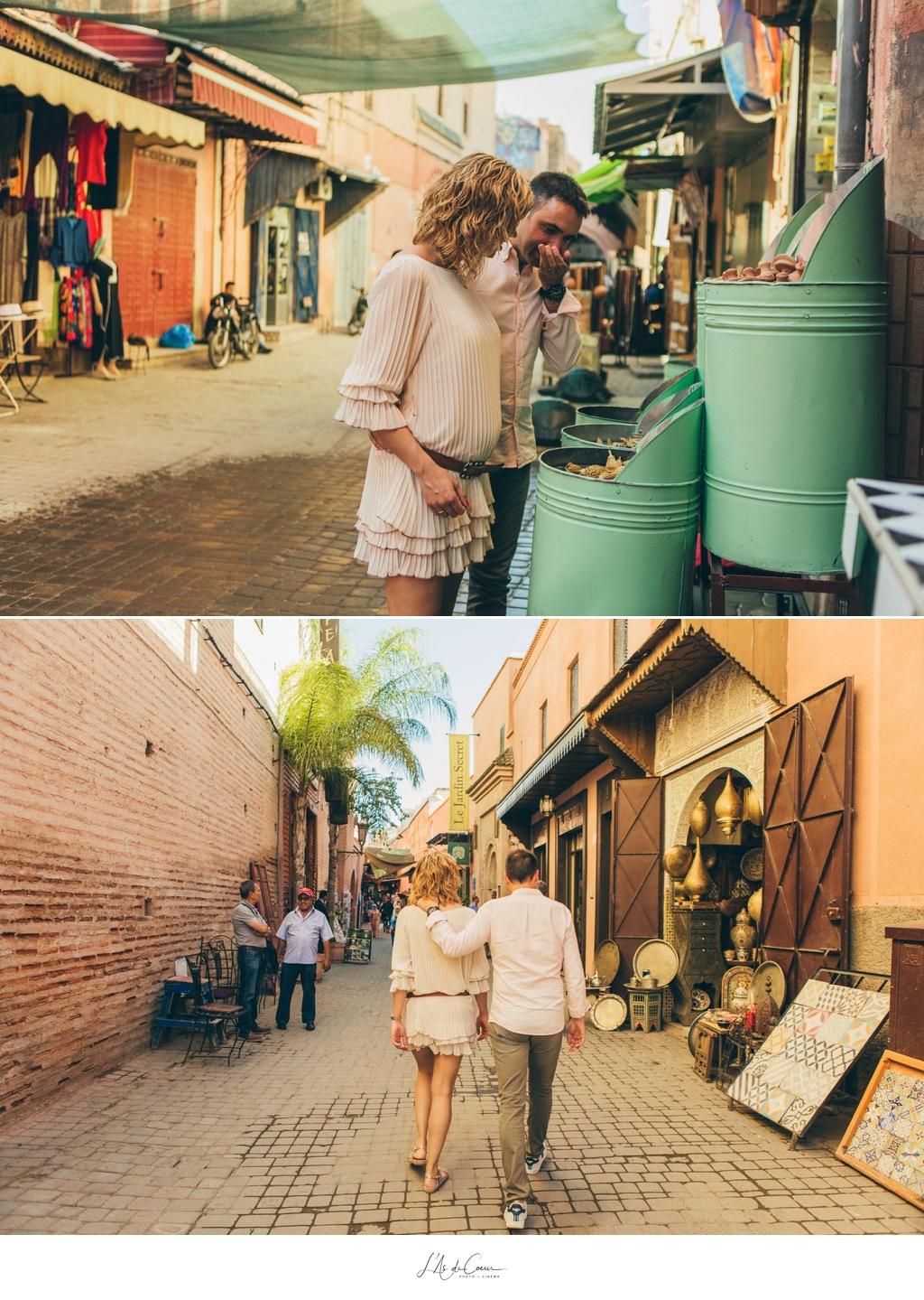 Photo d'amoureux Marrakech