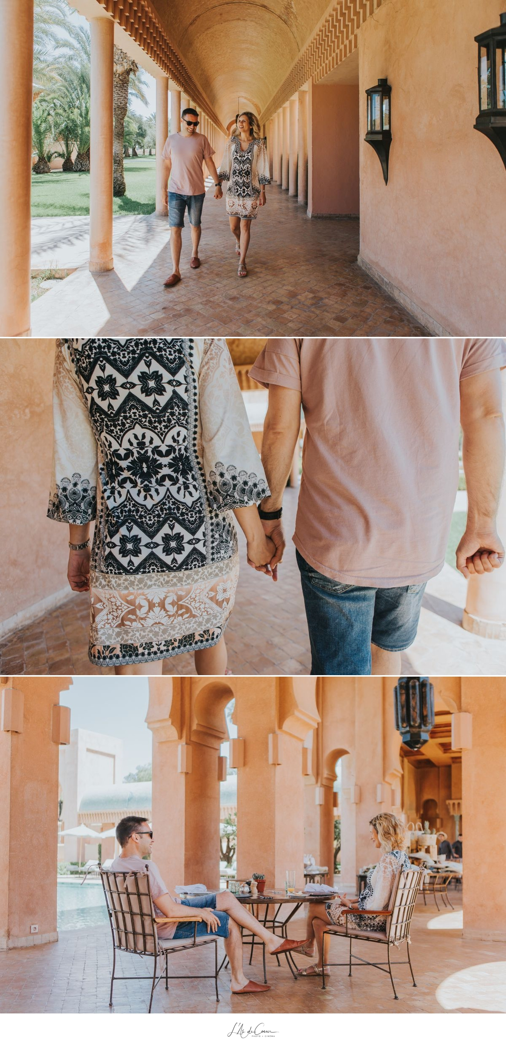 Photo de couple hotel Marrakech