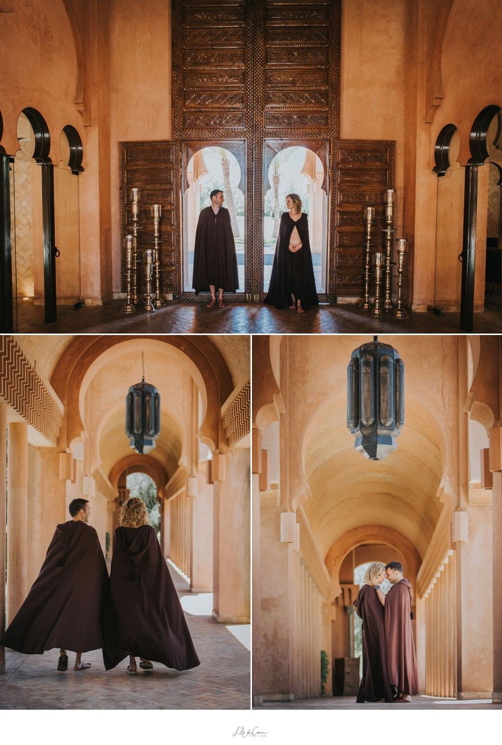 Photo de couple Amanjena Marrakech
