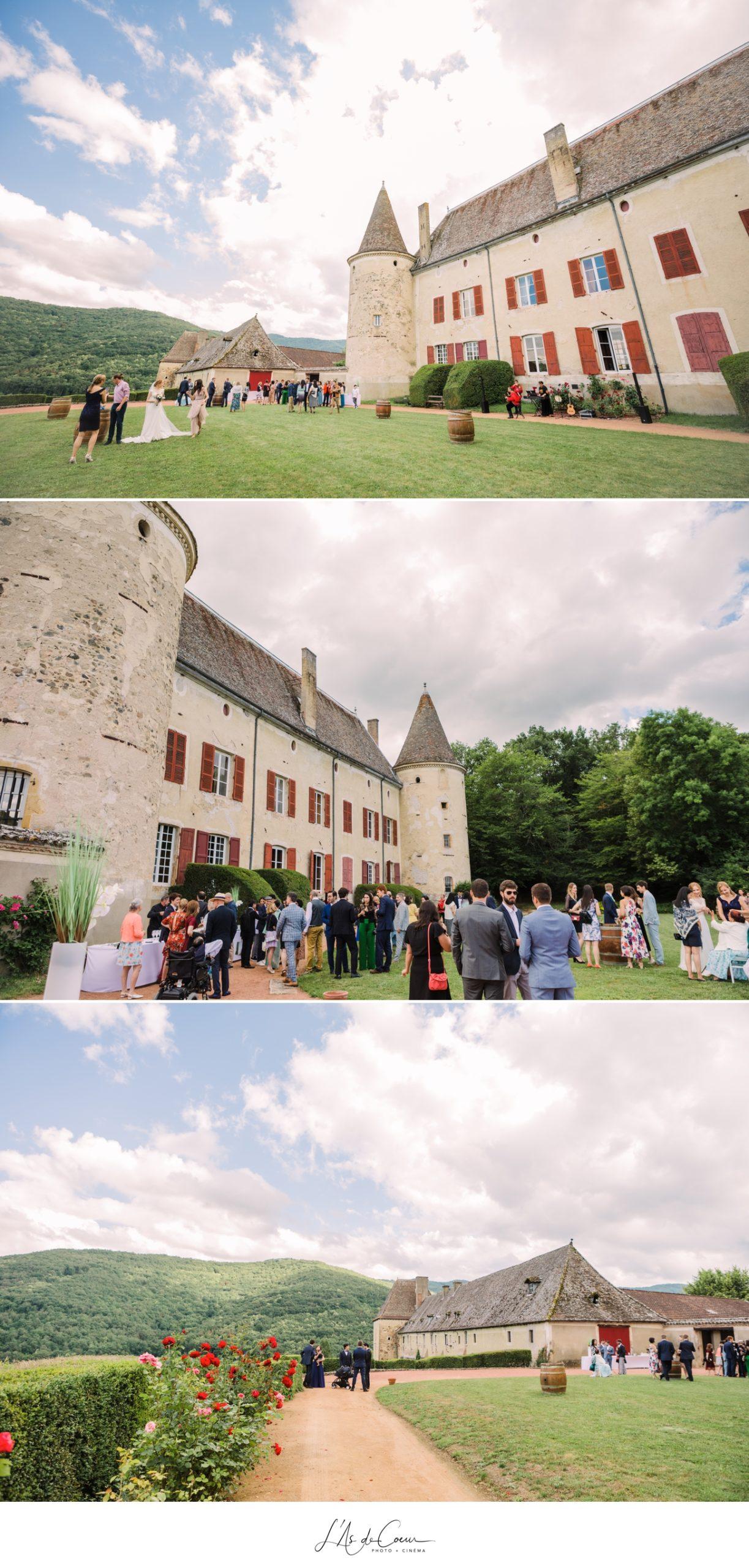 cocktail mariage Chateau Varennes