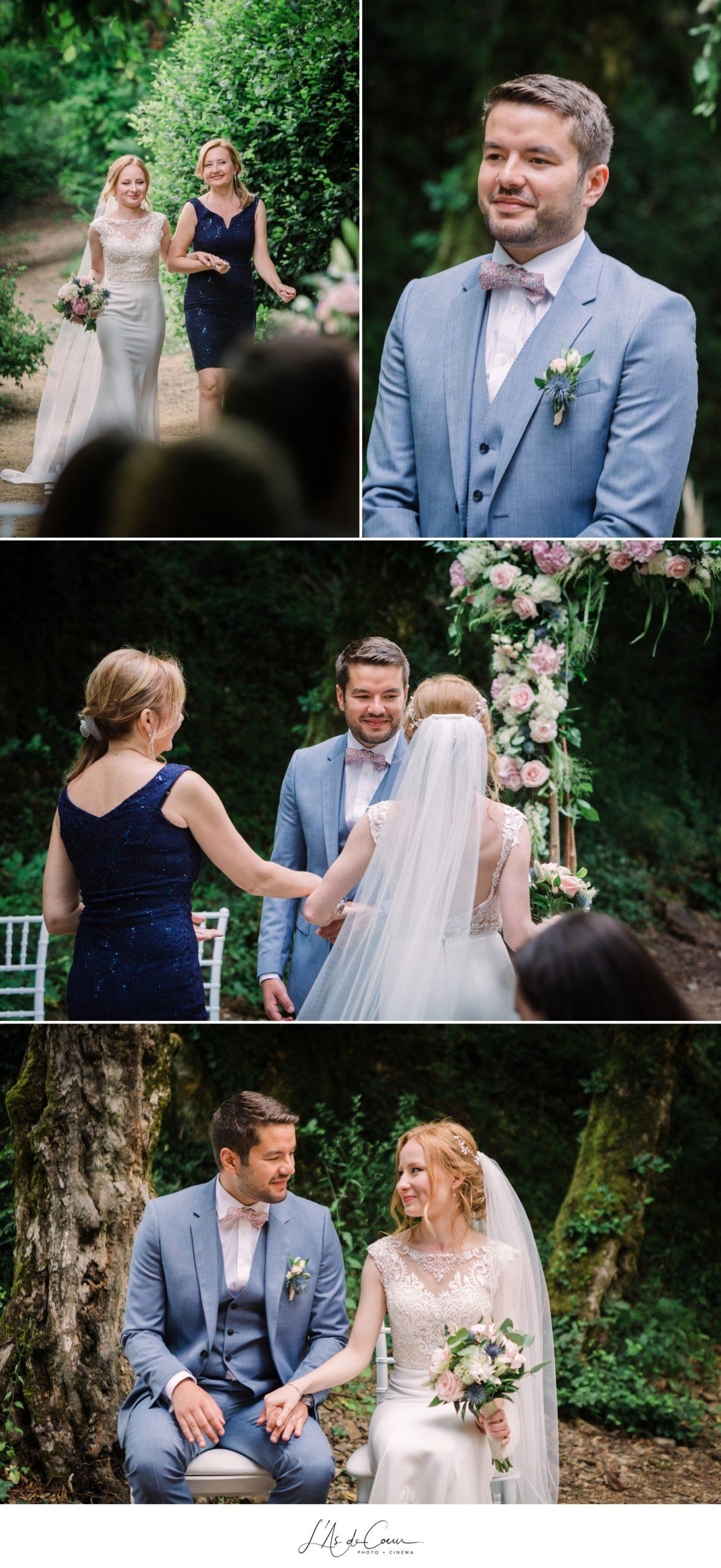 entrée de la mariée cérémonie laïque