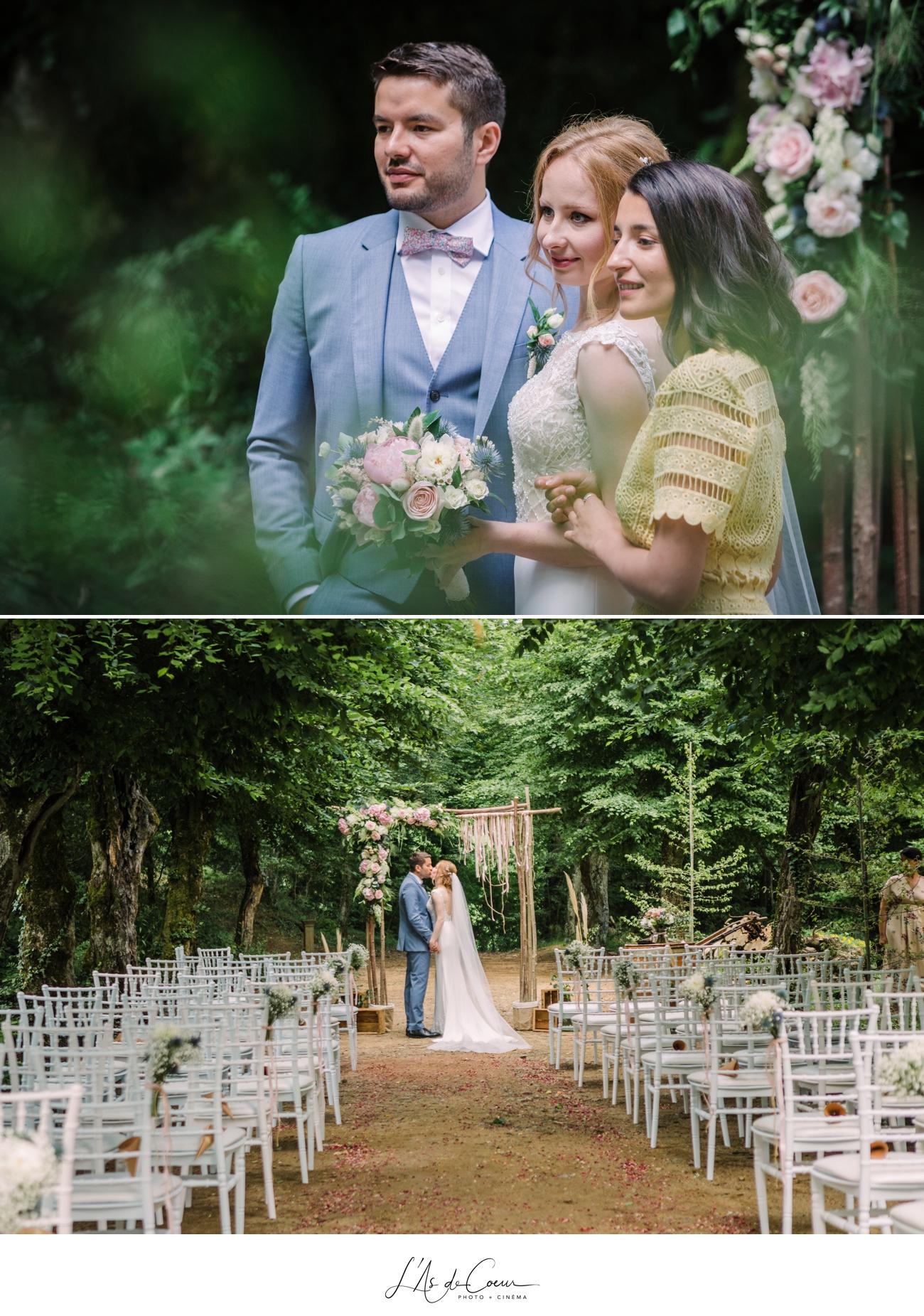 Photographe mariage bohème Lyon