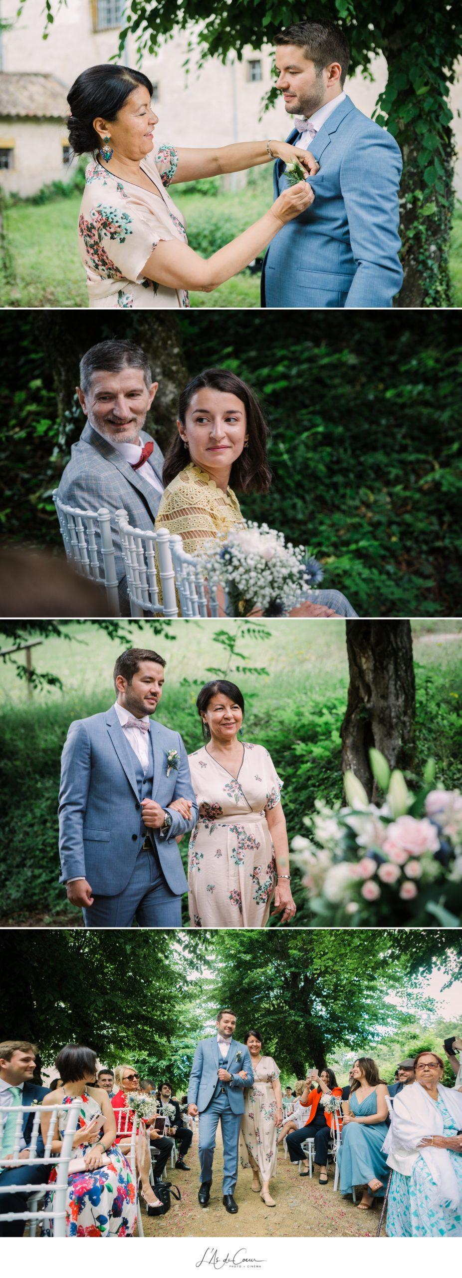 entrée du marié cérémonie laïque