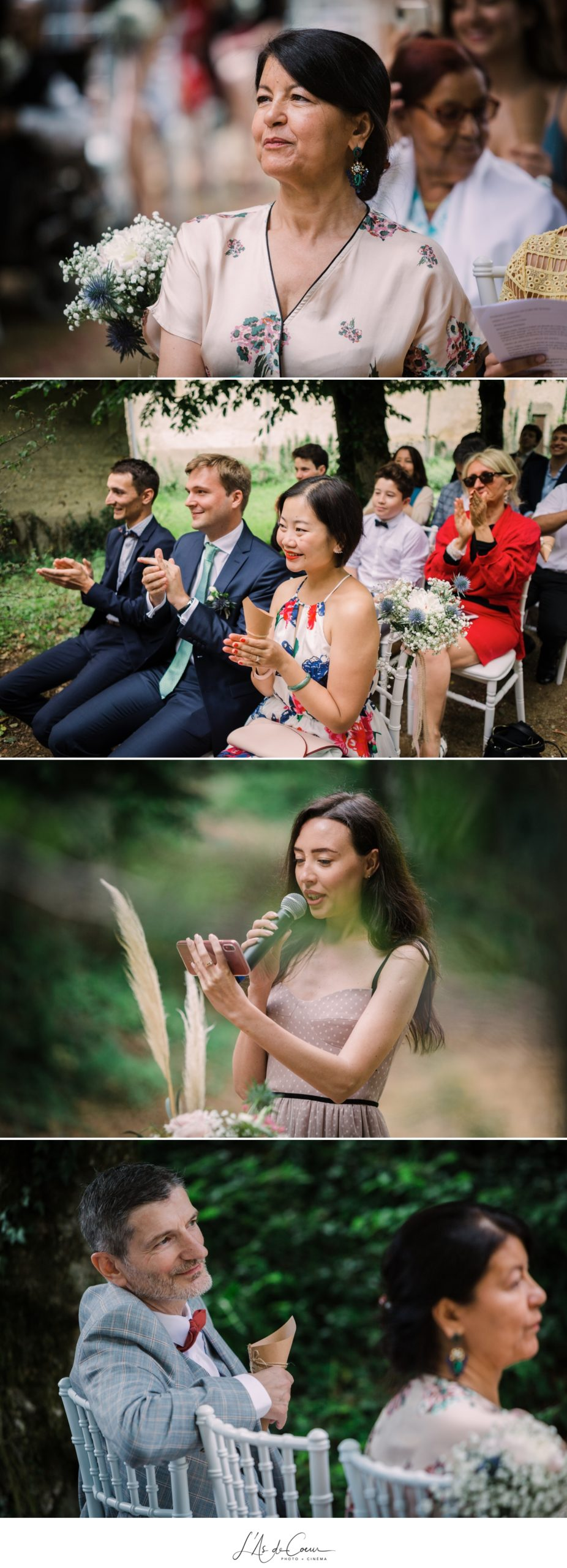 ceremonie exterieure discours