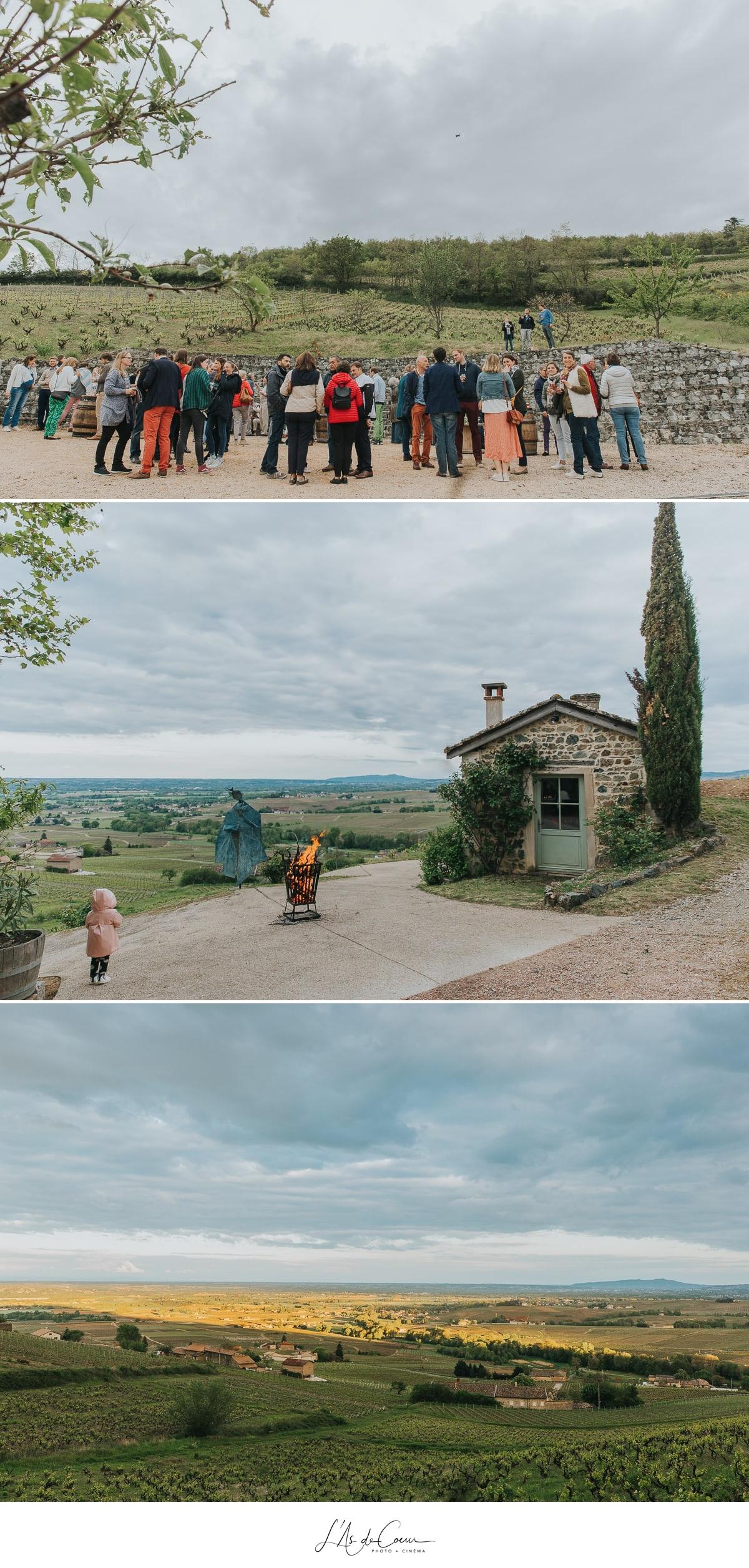 pré-event Beaujolais photographe mariage lyon L'As de Coeur