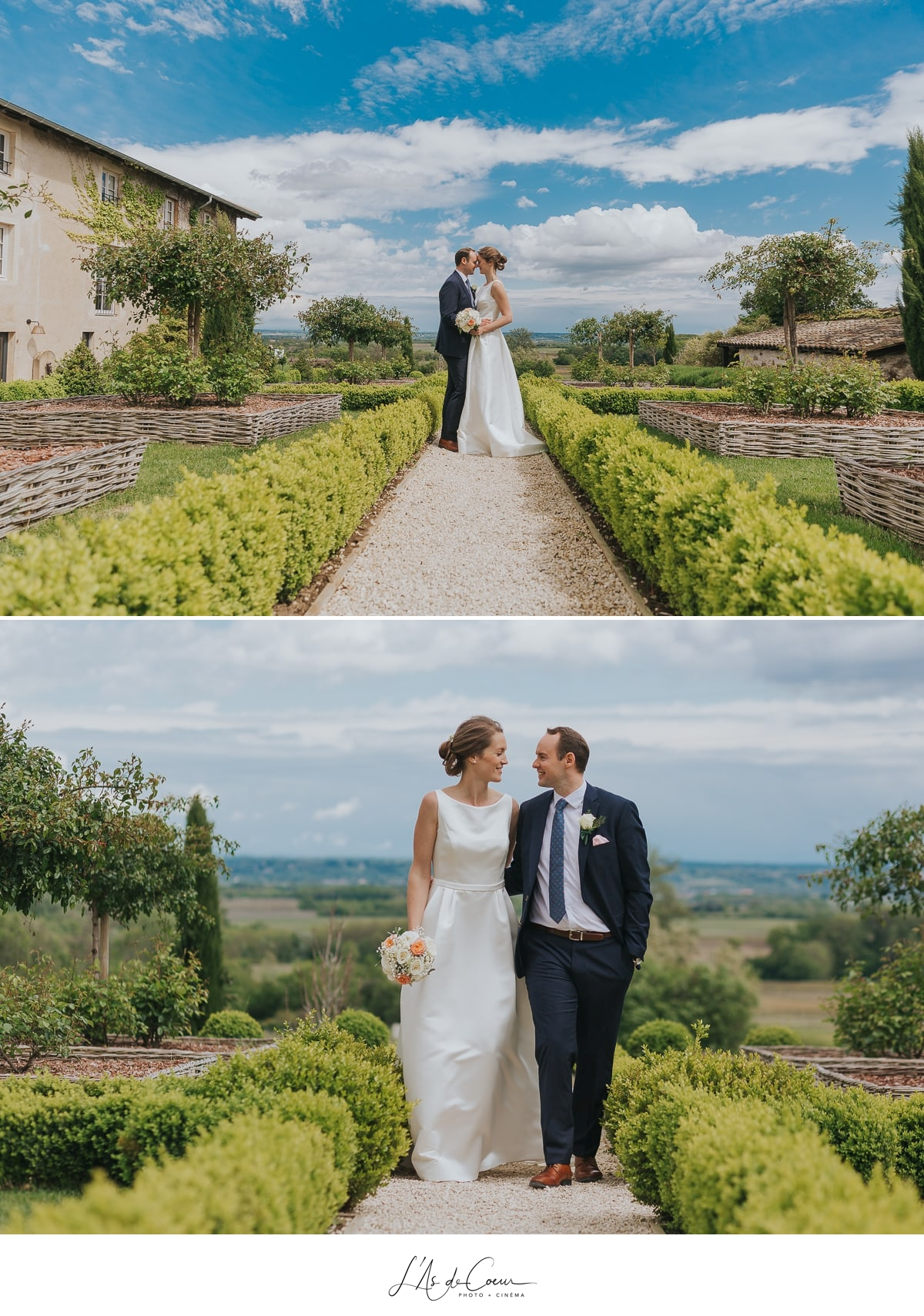 photos couple portraits Domaine de Morgon la javenrière photographe mariage lyon Beaujolais L'As de Coeur