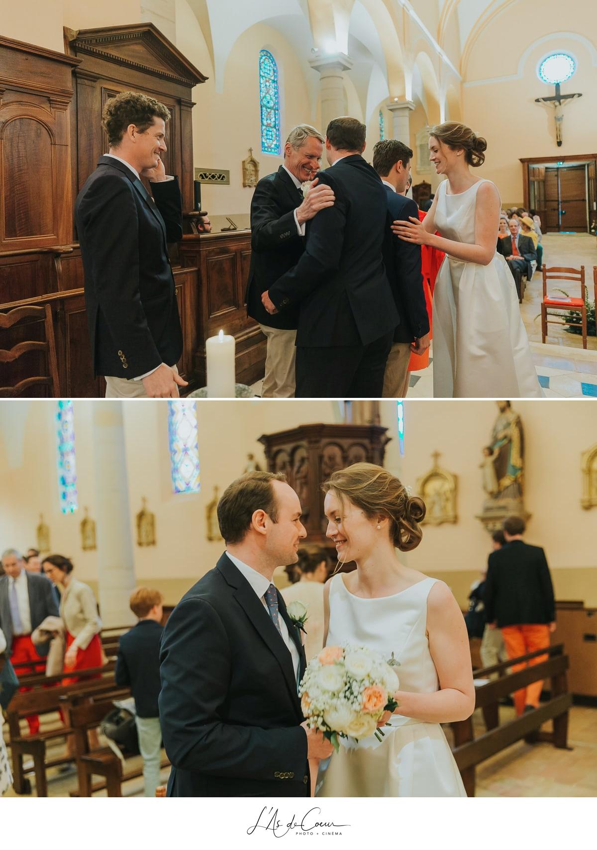 cérémonie religieuse émotion Domaine de Morgon la javernière photographe mariage lyon Beaujolais L'As de Coeur