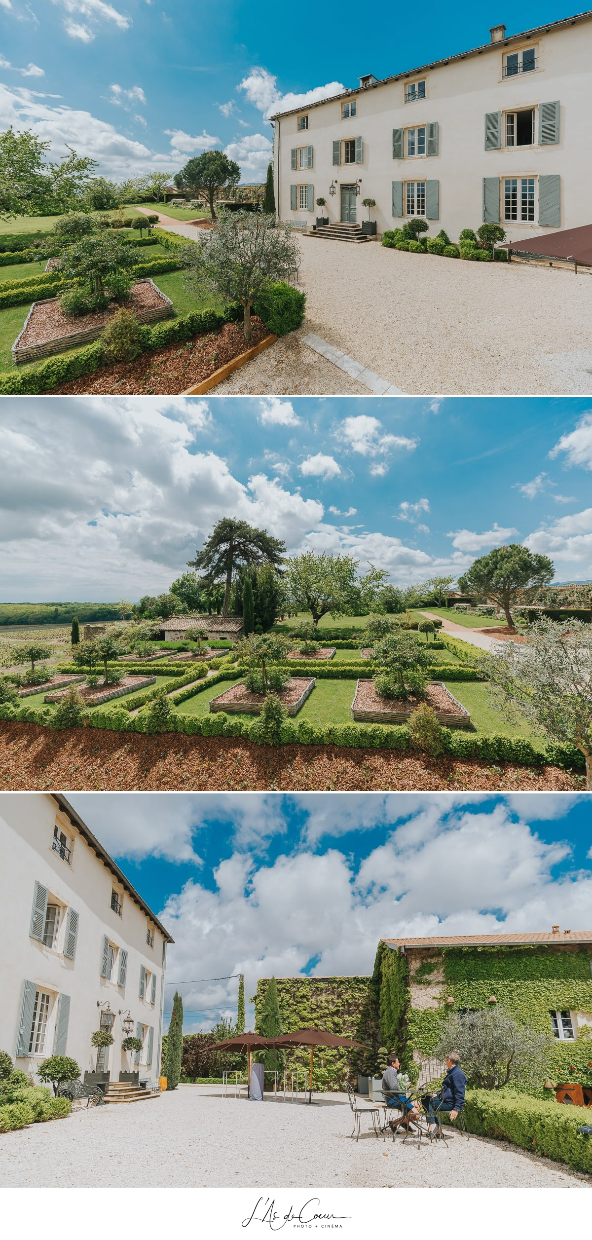 jardins Domaine de Morgon La Javernière photographe mariage lyon Beaujolais L'As de Coeur