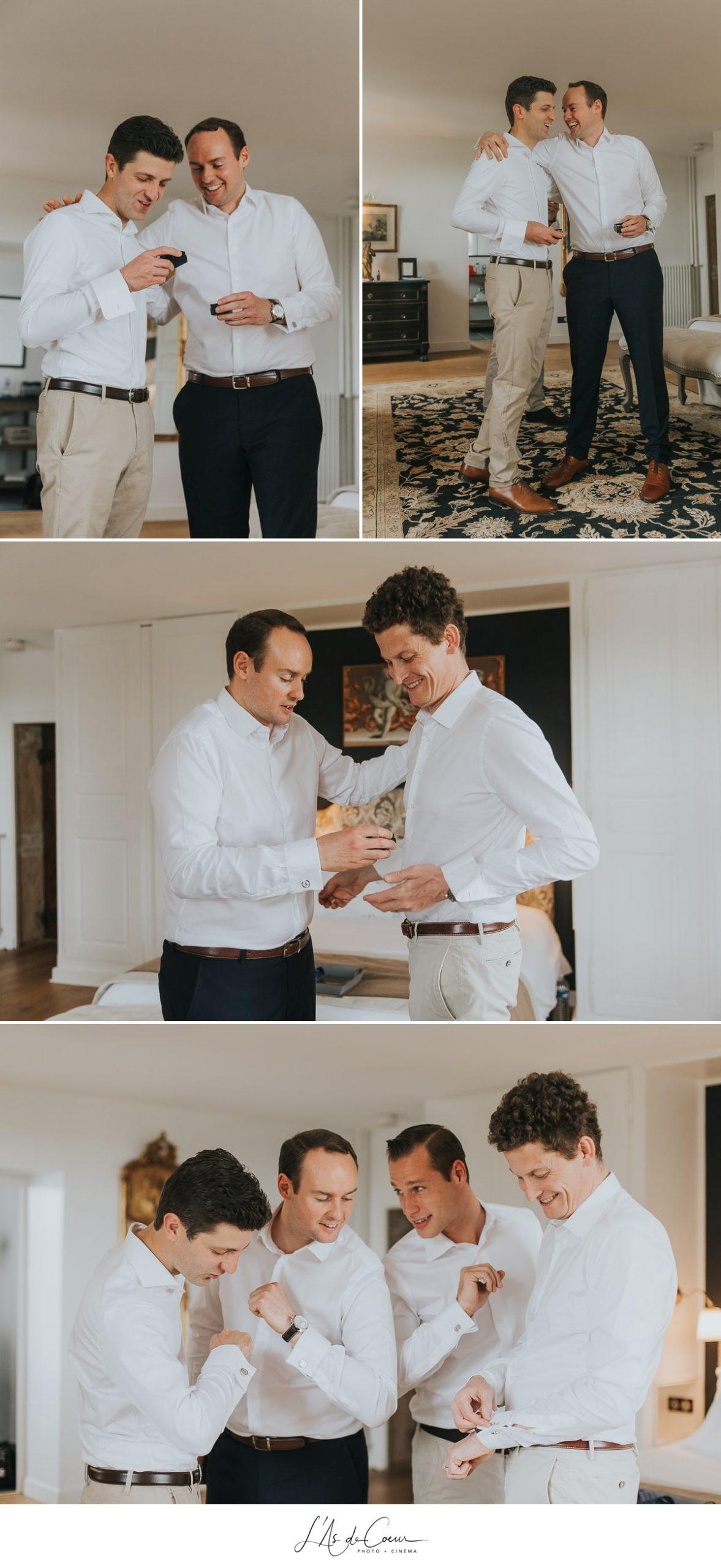 détails préparatifs marié cadeau invités la javernière photographe mariage lyon beaujolais L'As de Coeur
