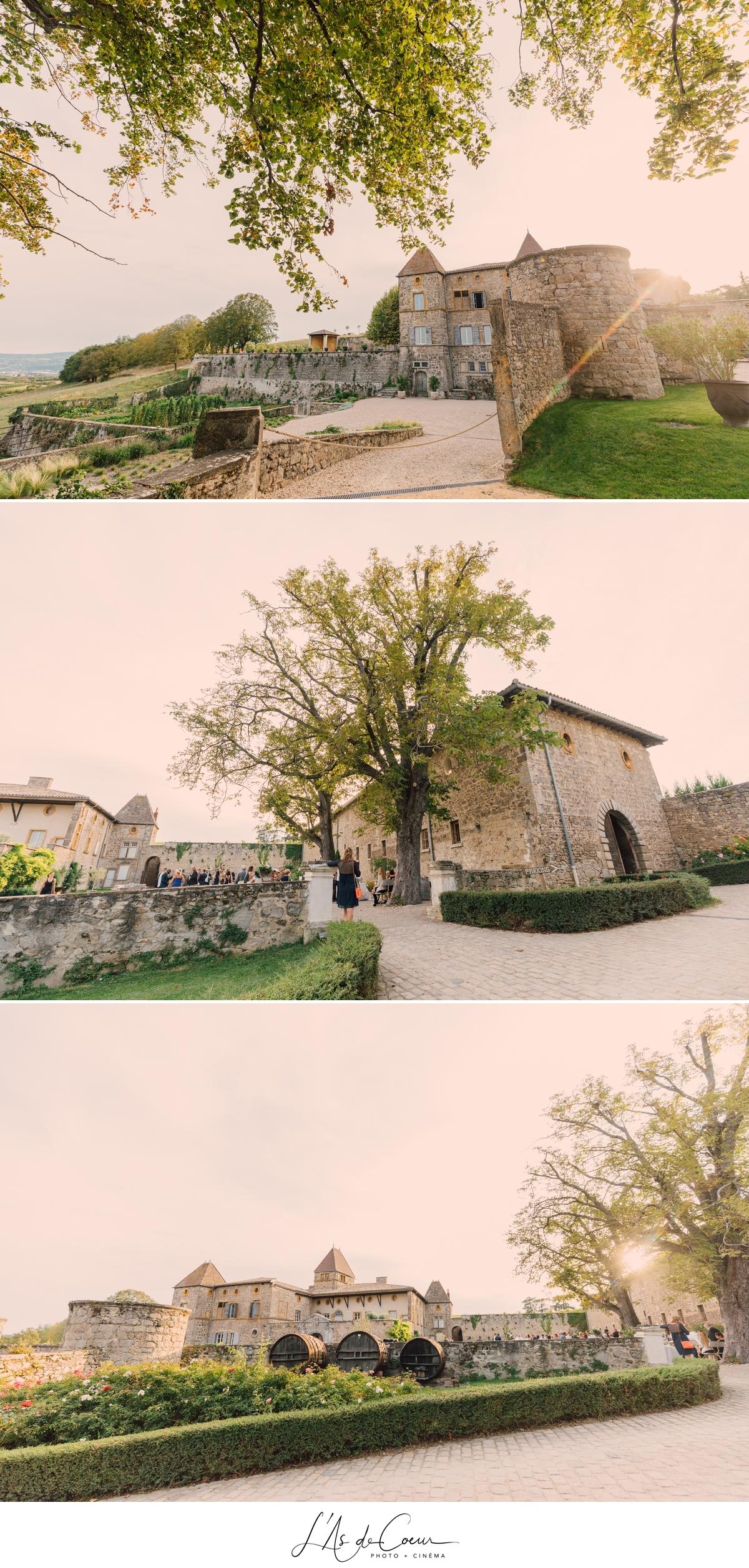 Mariage château de la Gallée photographe Mariage Lyon ©lasdecoeur