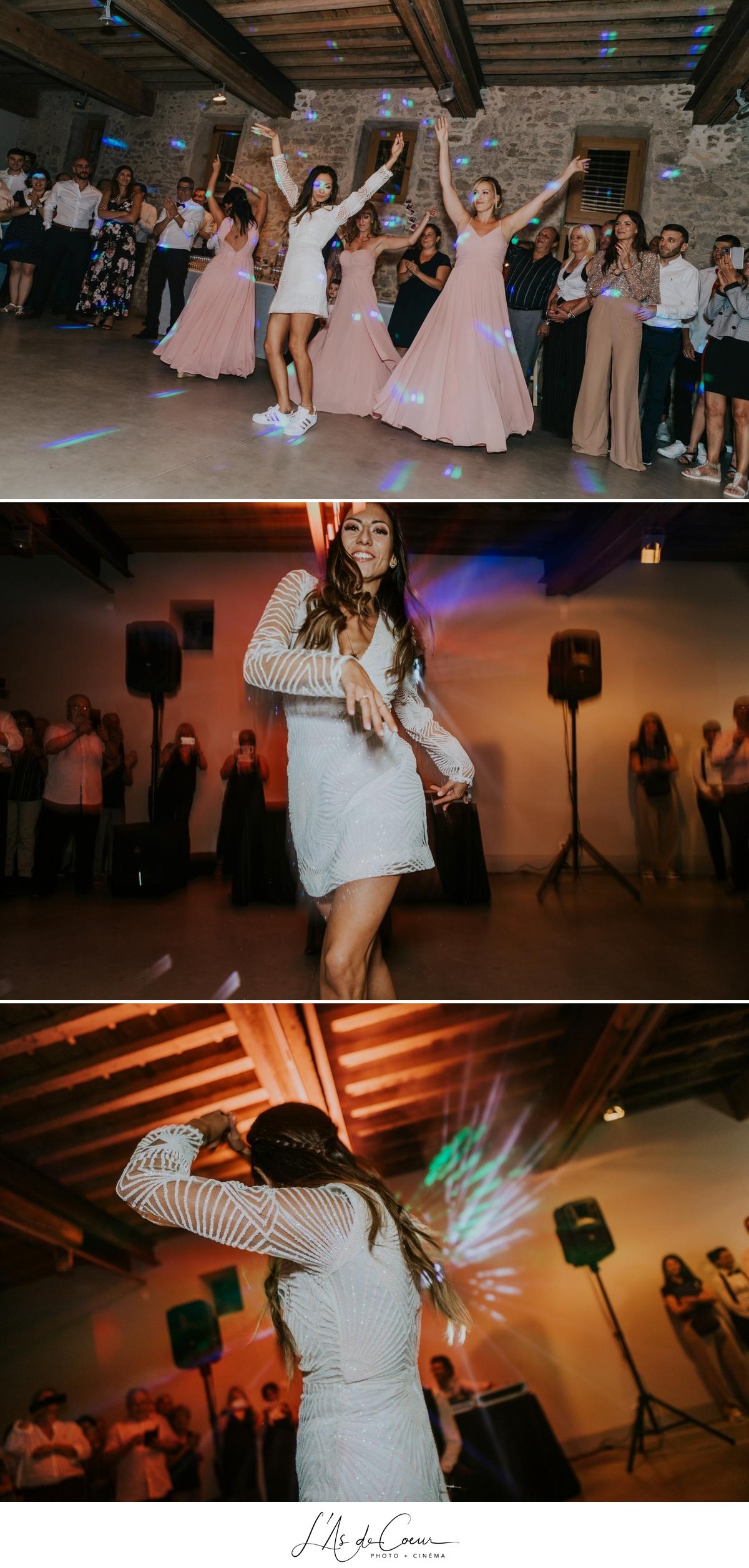 danse sexy Mariage bohème château de la Gallée photographe Mariage Lyon ©lasdecoeur