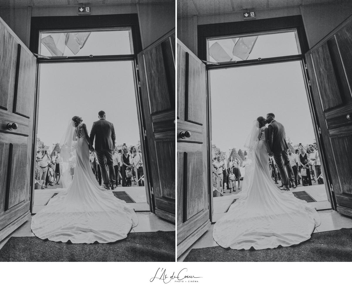 mariage mairie Noir et blanc Lyon