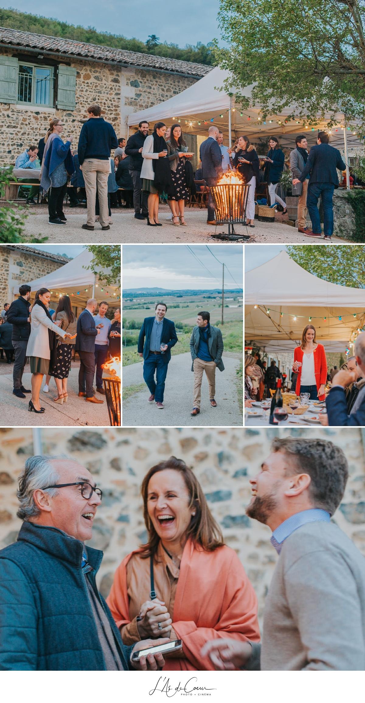 pré-event Machon Beaujolais photographe mariage lyon L'As de Coeur