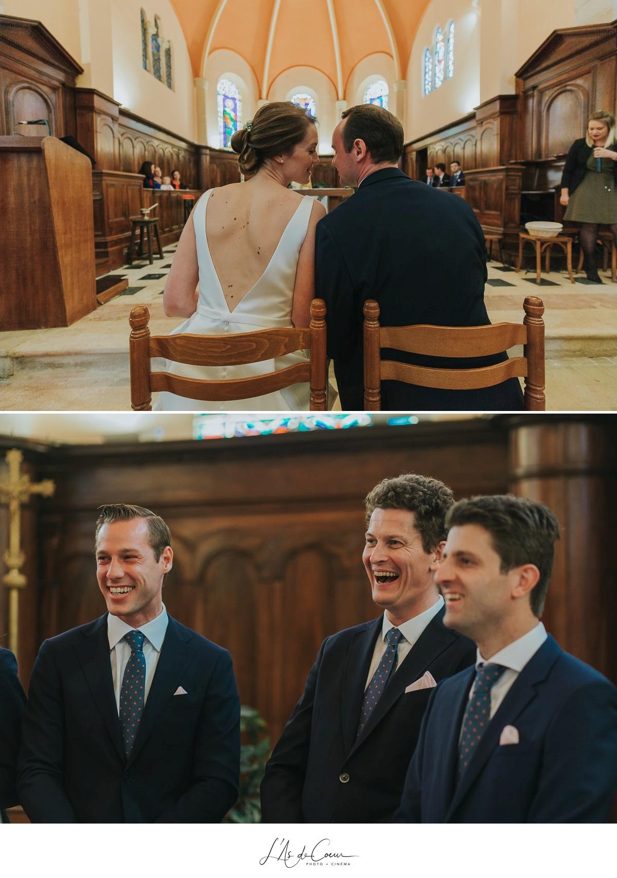cérémonie religieuse église Domaine de Morgon la Javernière photographe mariage lyon Beaujolais L'As de Coeur